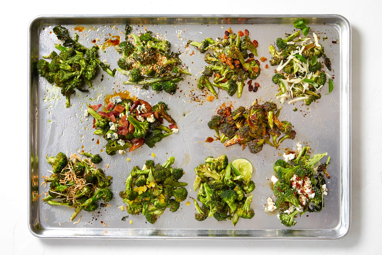10 Ways to Season Roasted Broccoli
