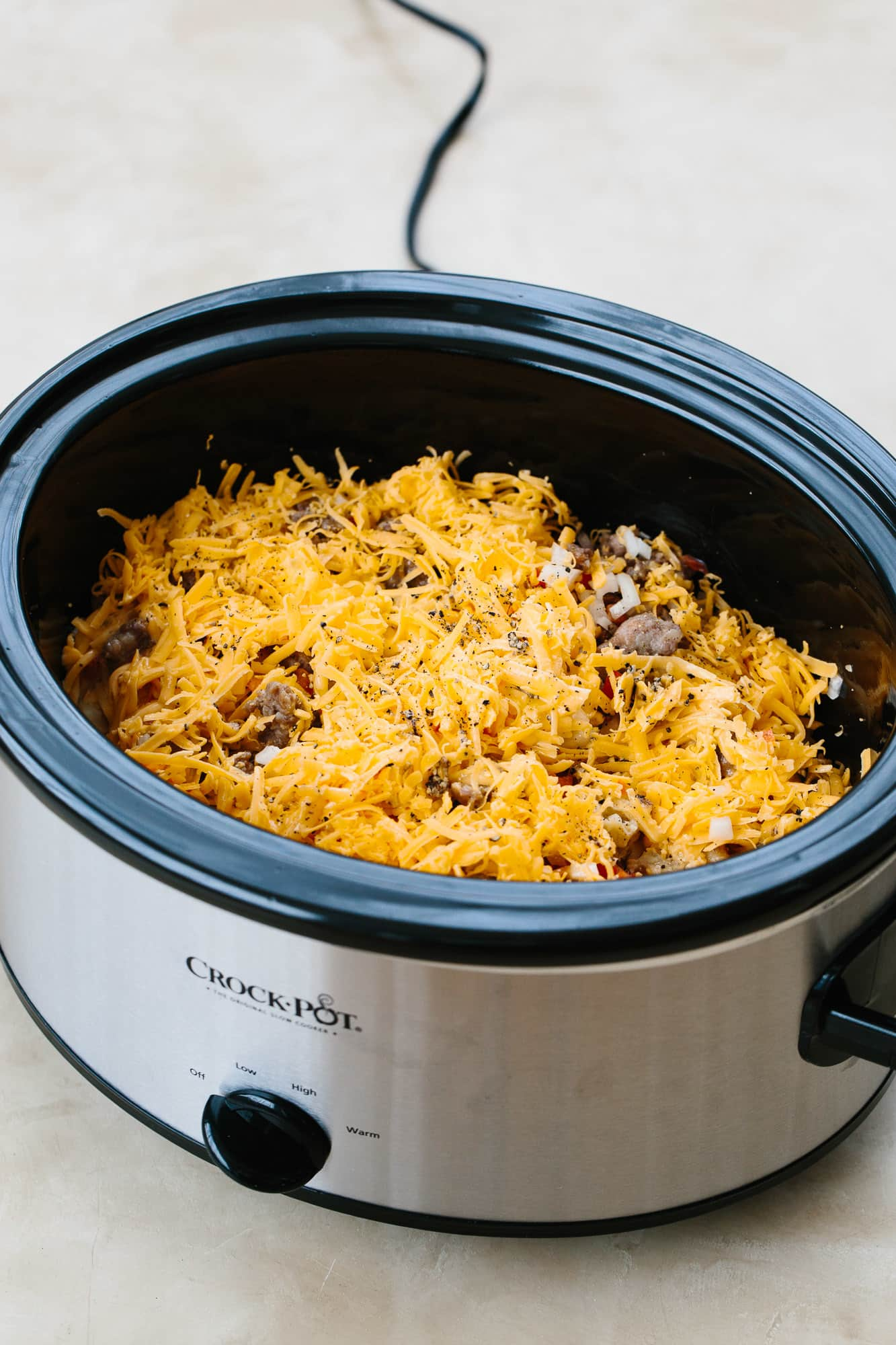 How To Make a Sausage and Egg Breakfast Casserole in the Slow Cooker: gallery image 5