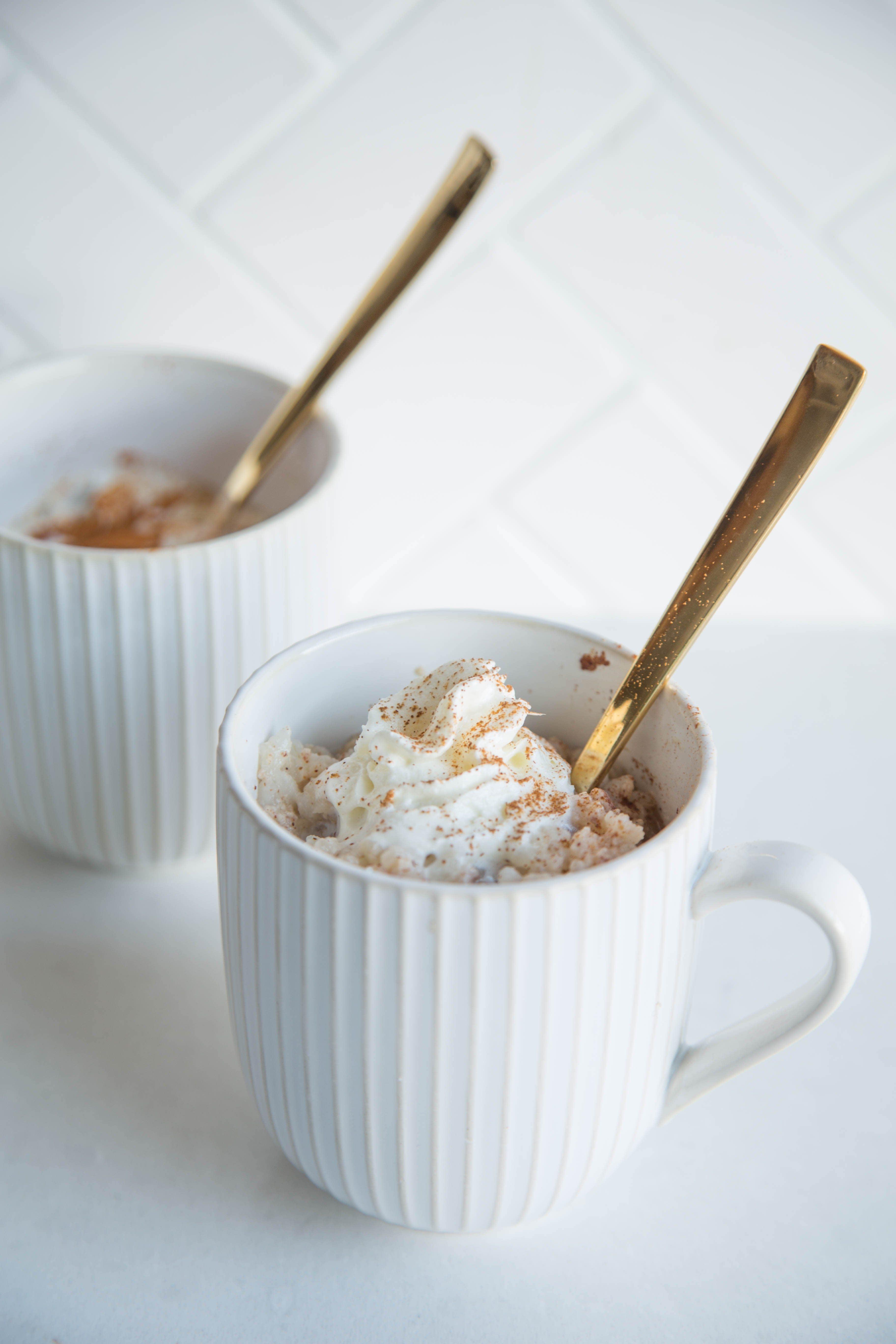 Mug Rice Pudding