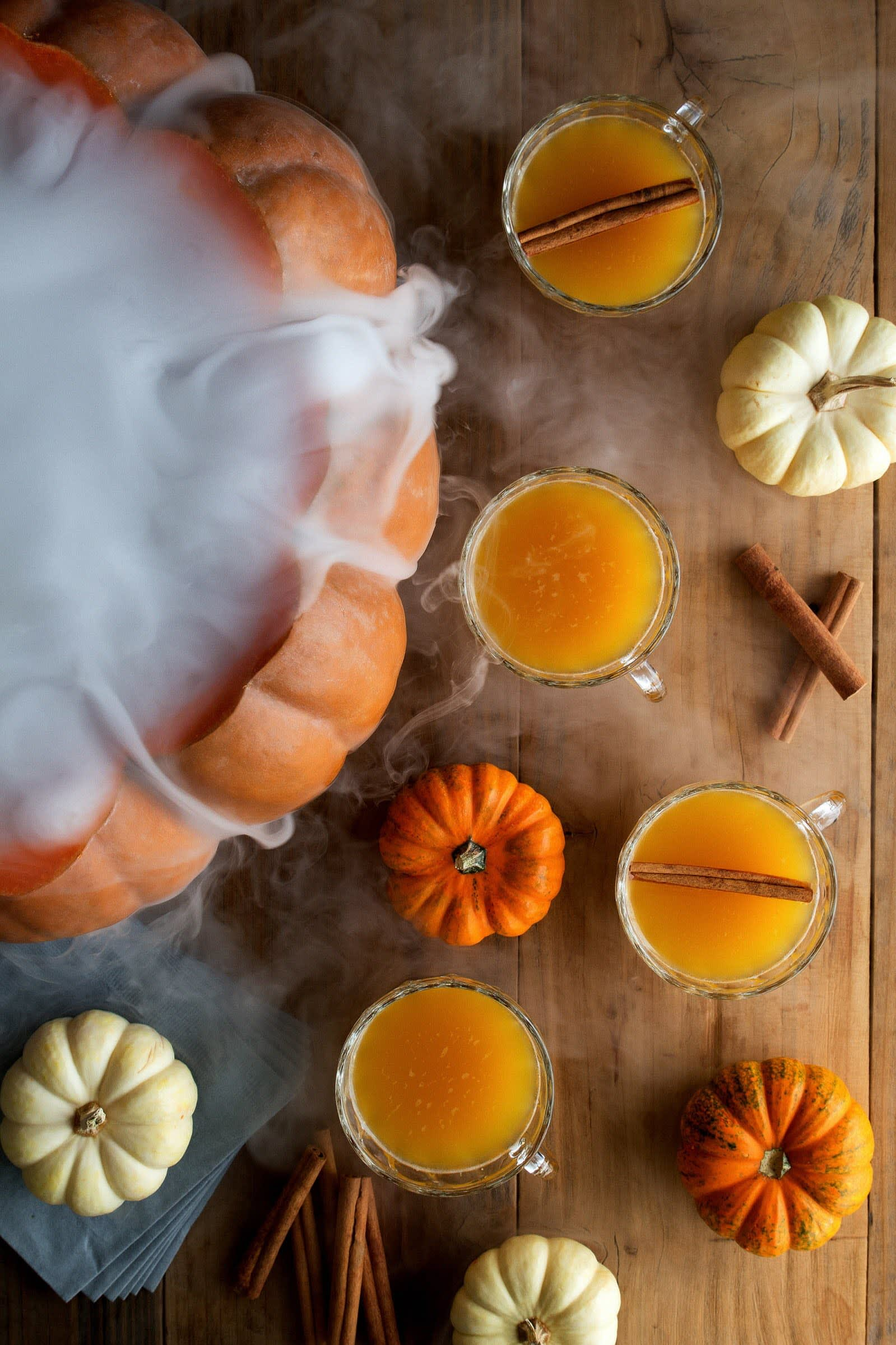Halloween Punch with Dry Ice