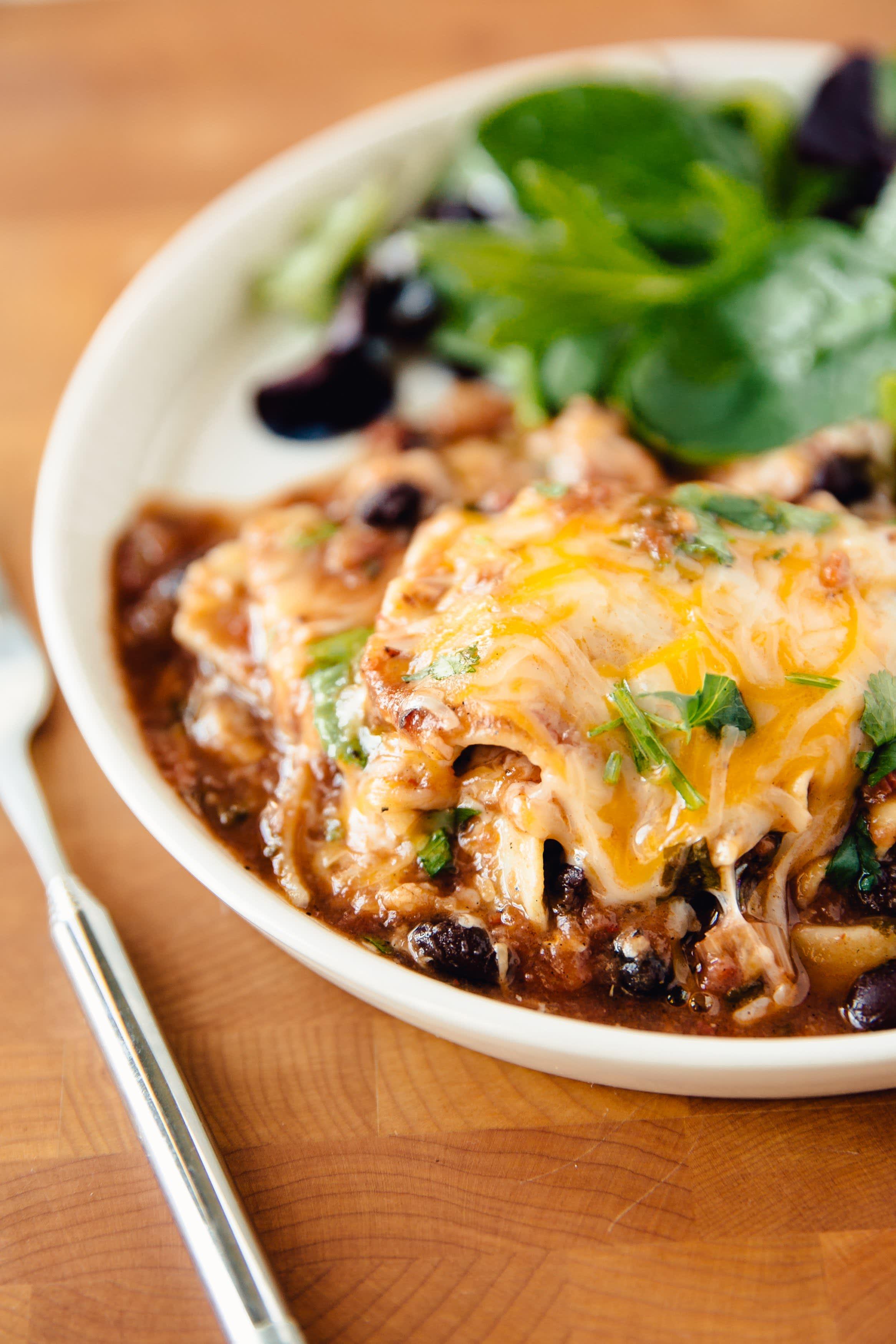 Mexican Skillet Lasagna
