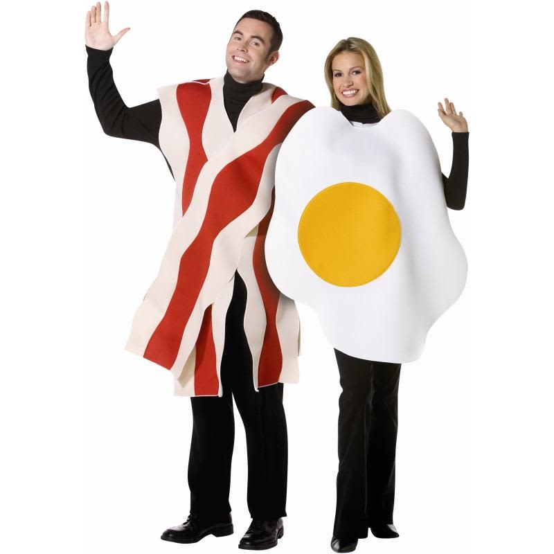 Bacon and egg costume