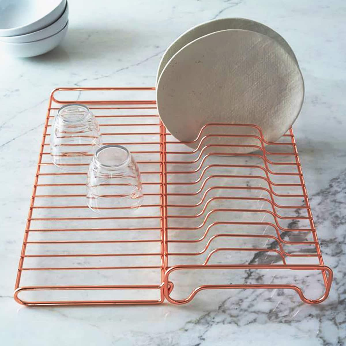 10 Dish Drying Racks That Are Better than a Tea Towel: gallery image 8