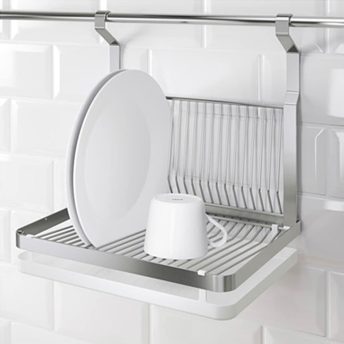 10 Dish Drying Racks That Are Better than a Tea Towel: gallery image 5