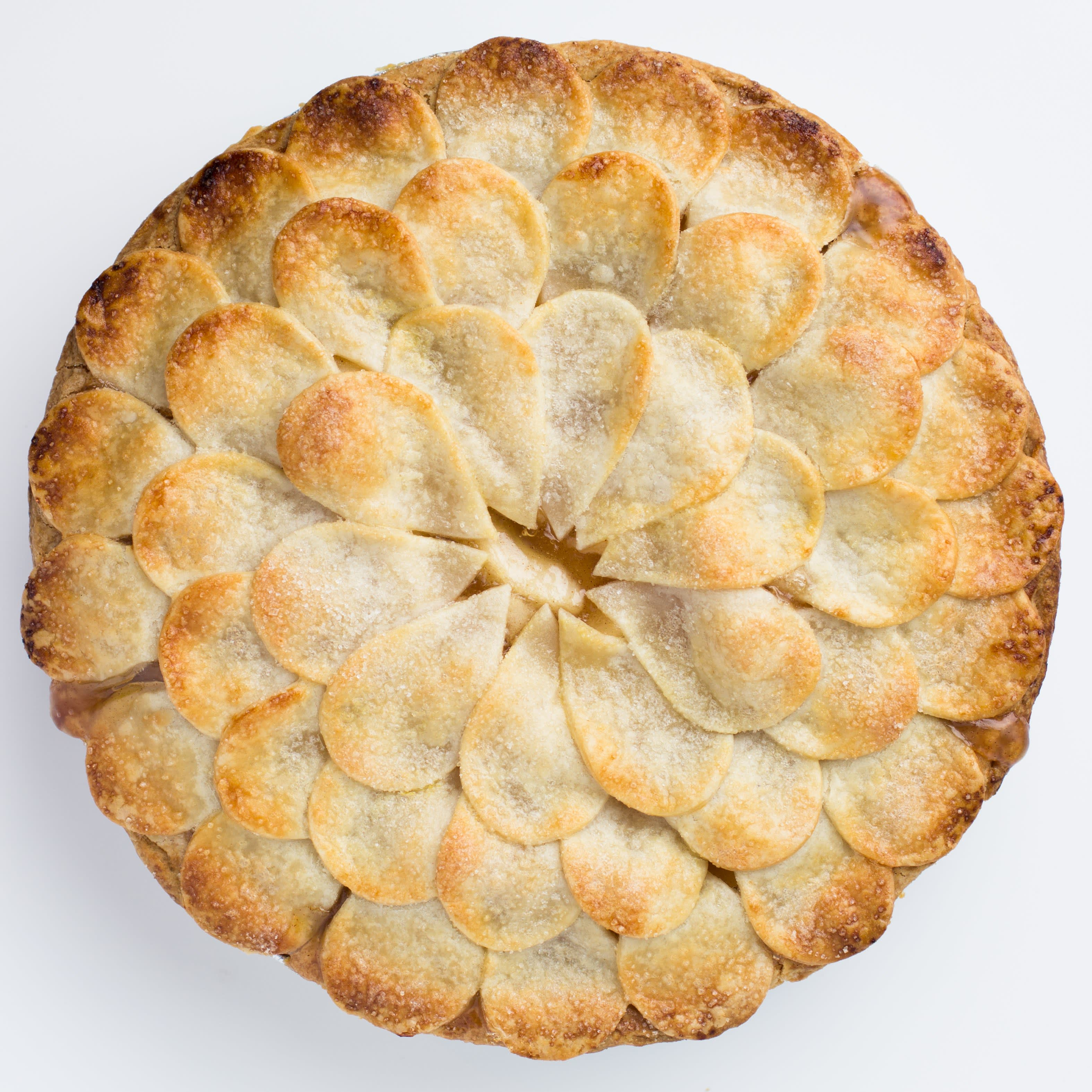 Shingle Pie Crust - How to Decorate a Pie