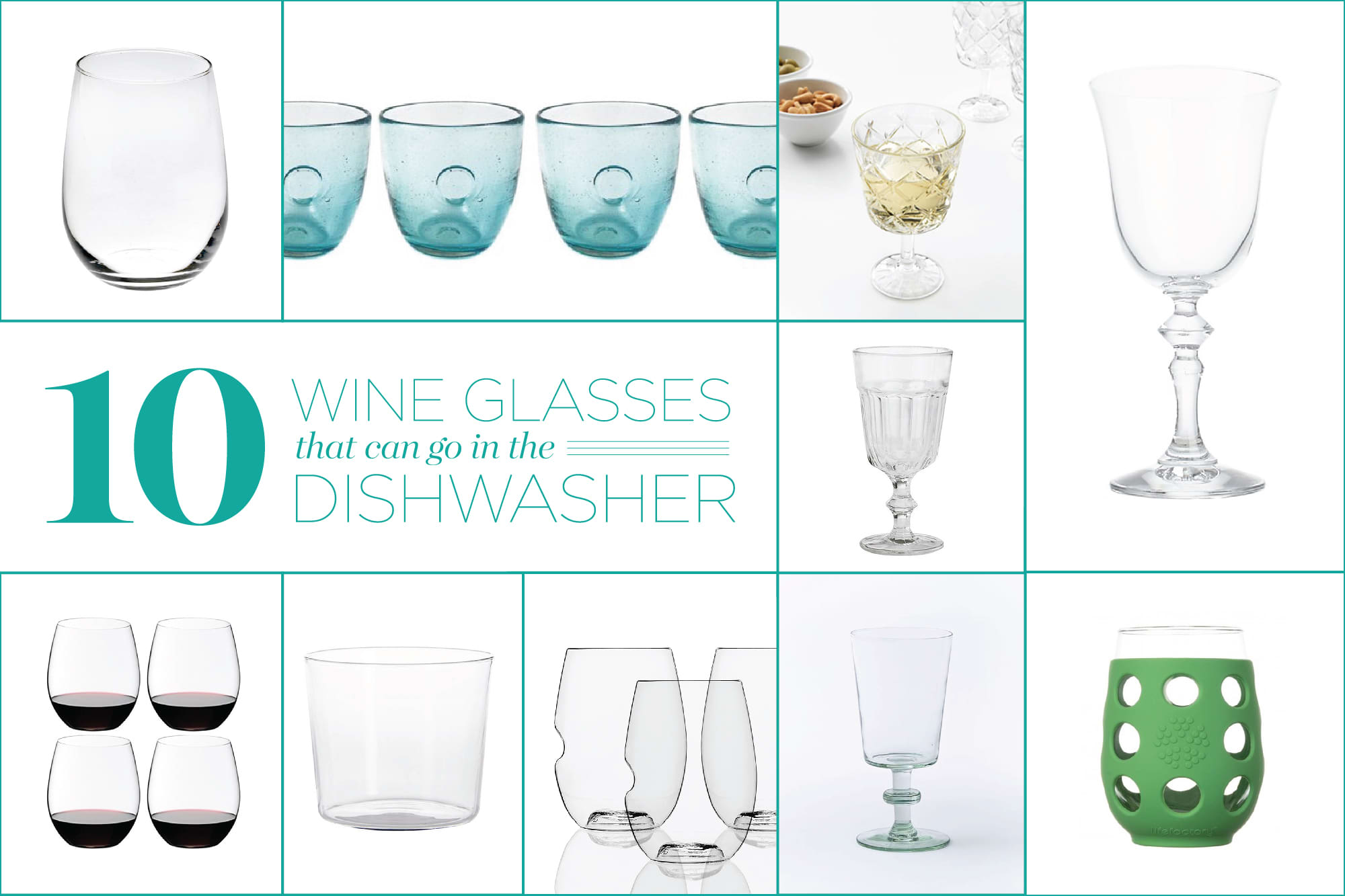 10 Wine Glasses That Can Go in the Dishwasher: gallery image 1