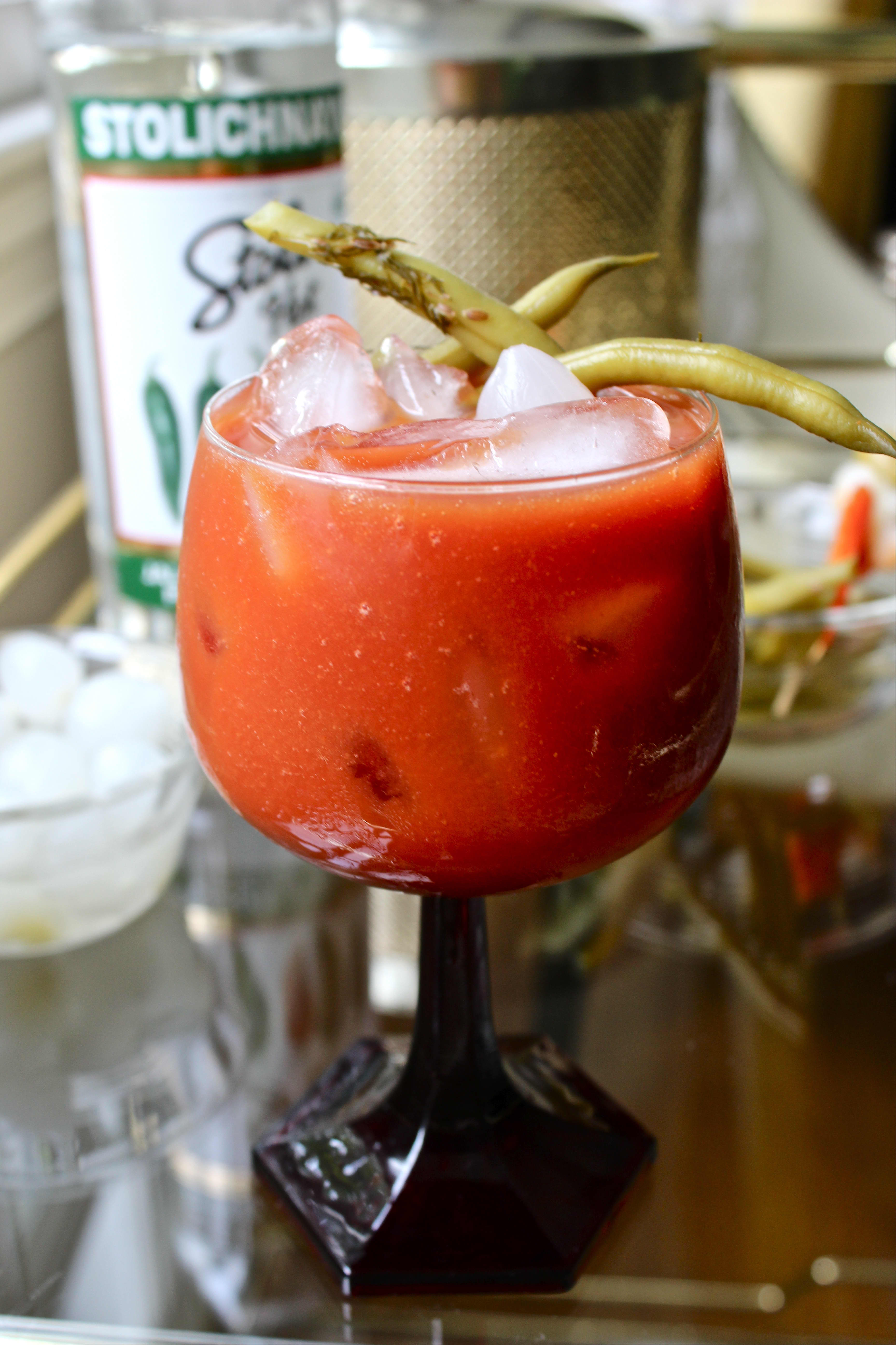 Recipe: Jalapeño Bloody Mary with Quick Pickled Vegetables