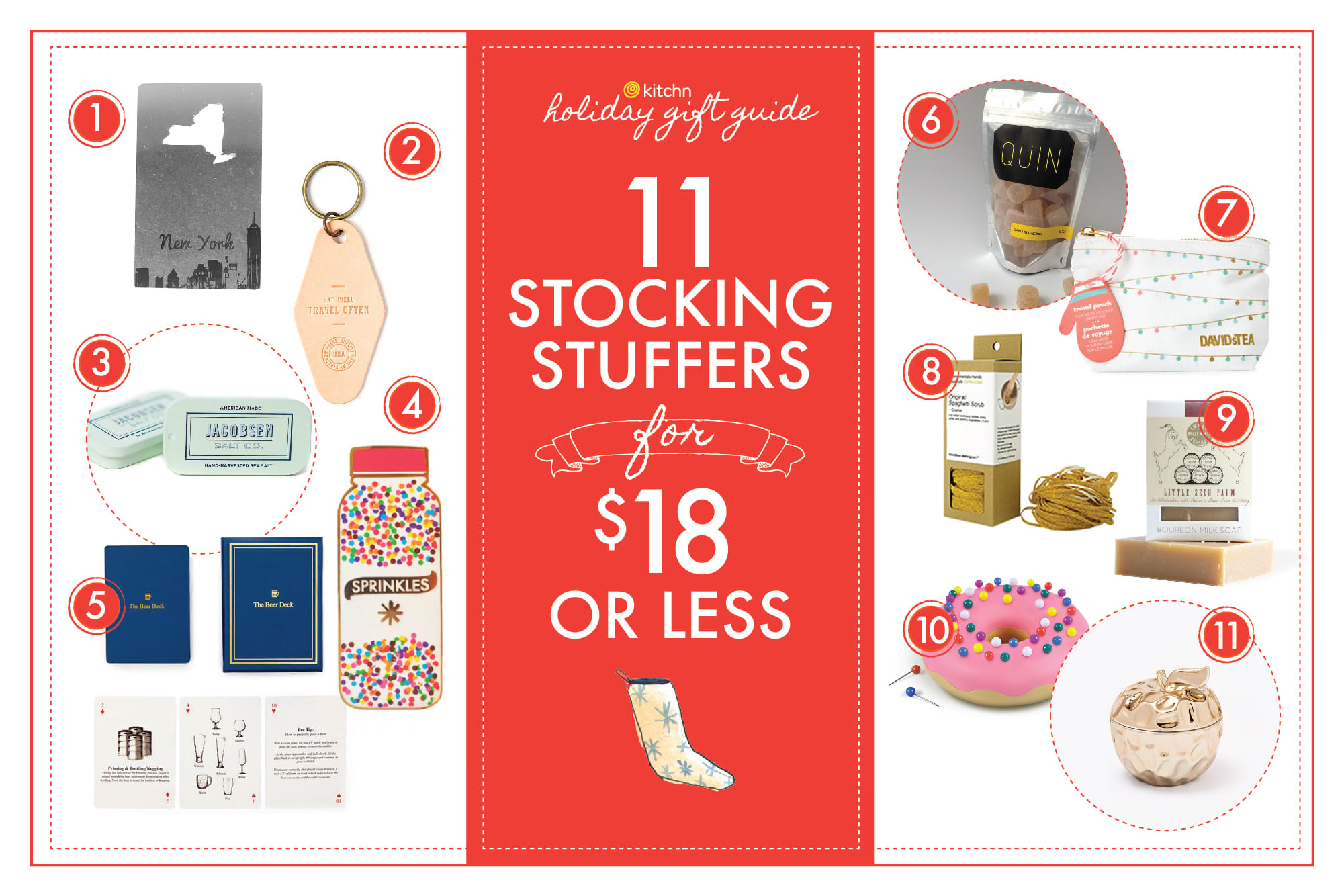 11 Stocking Stuffers for $18 or Less: gallery image 1