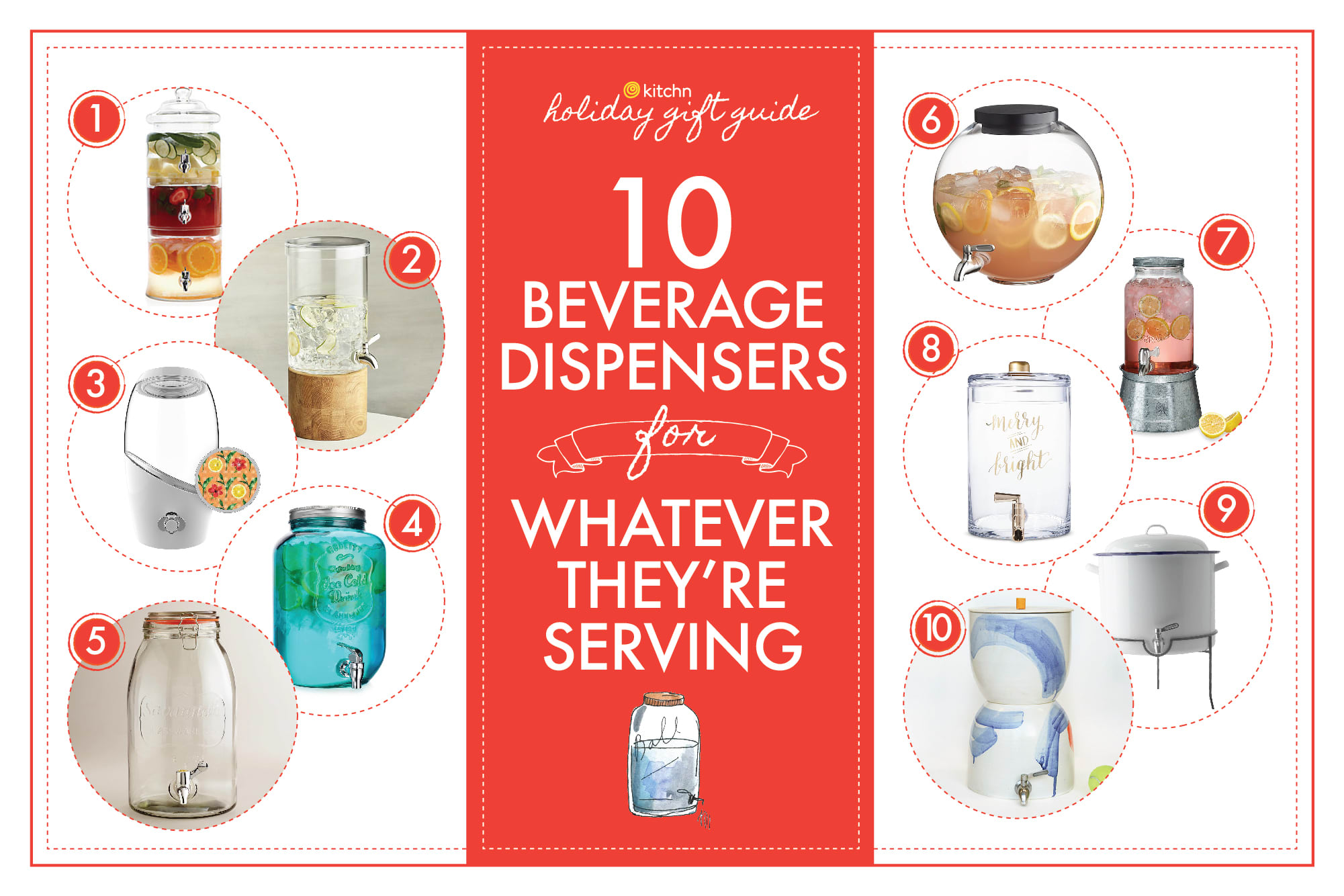 10 Beverage Dispensers to Gift to Your Favorite Party Host: gallery image 1
