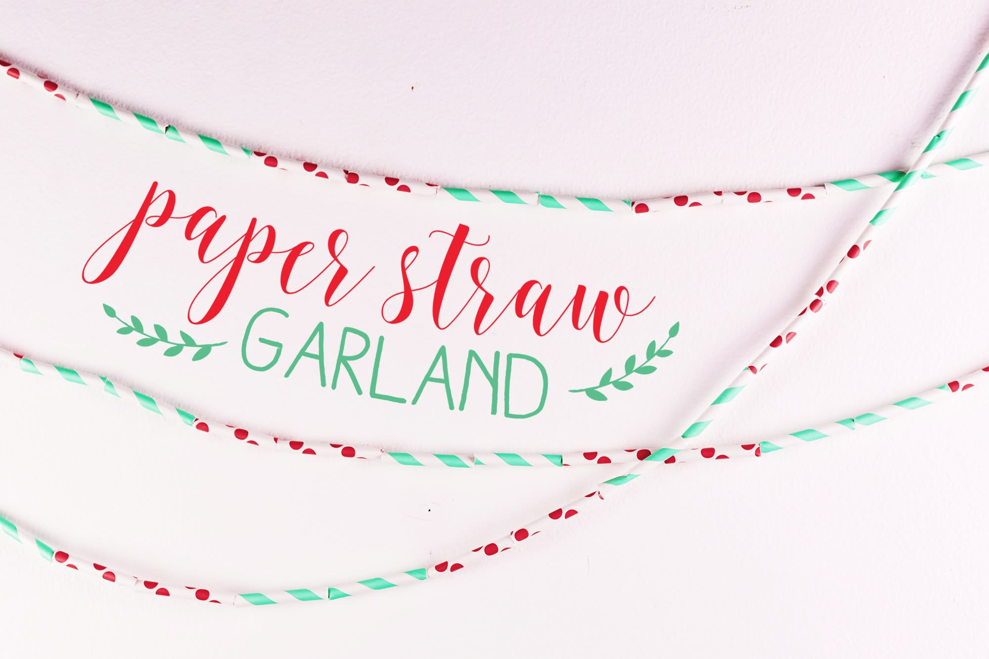 3 Easy DIY Garlands for Your Food-Lover's Christmas Tree: gallery image 1