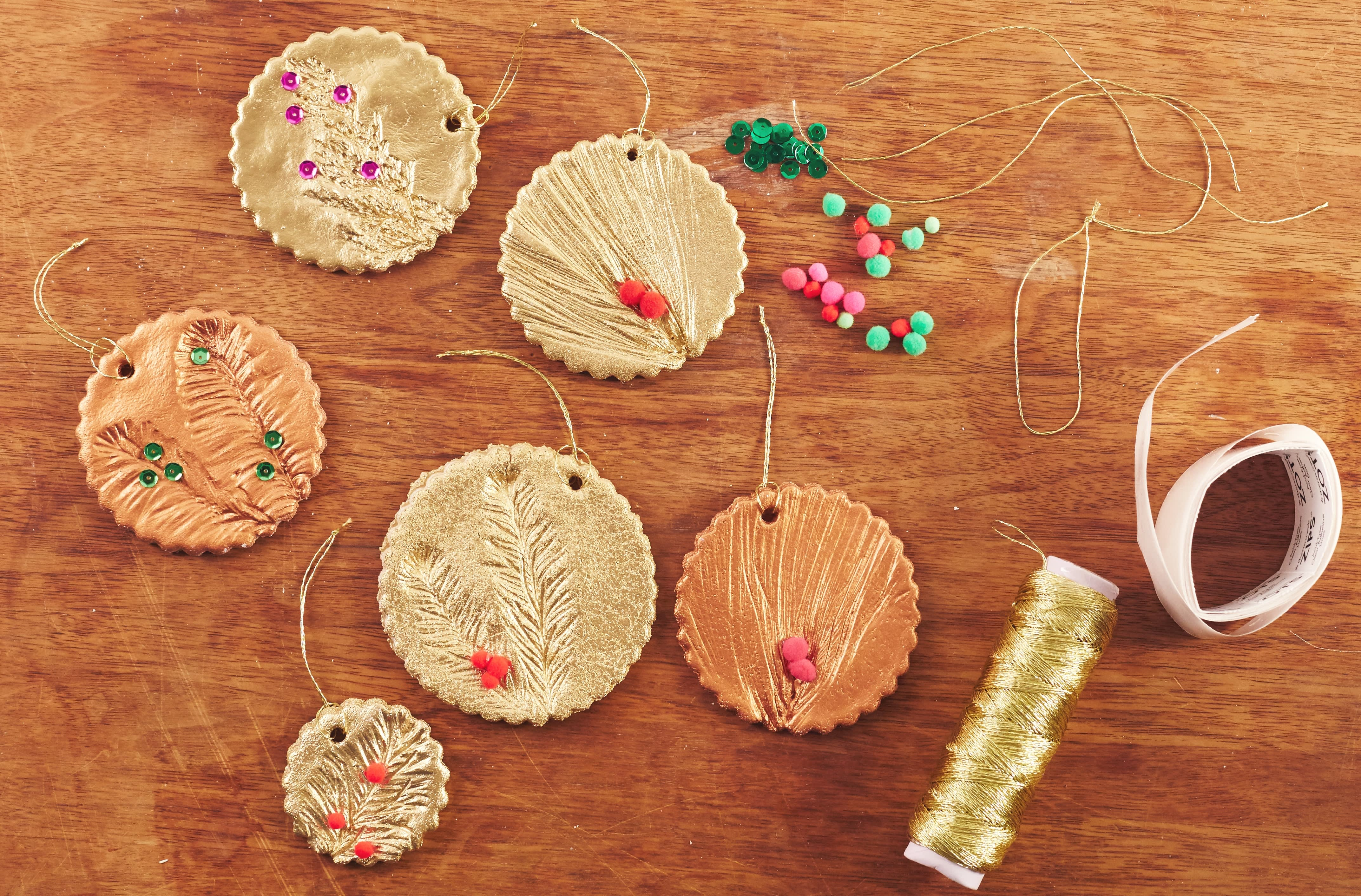 How To Make Glam Salt Dough Ornaments for Christmas: gallery image 10