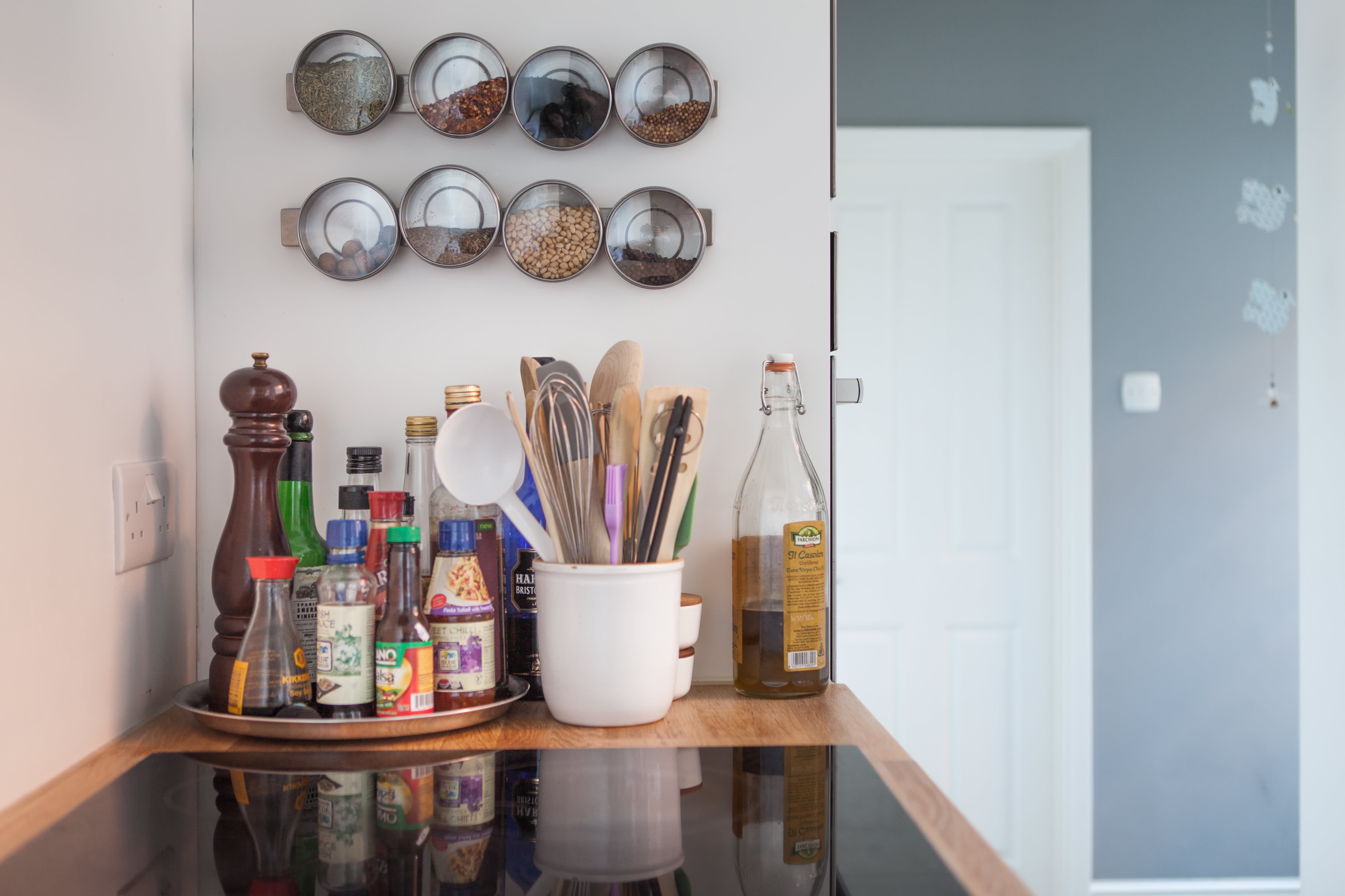 15 Ingenious Ways to Create a More Organized Kitchen: gallery image 8