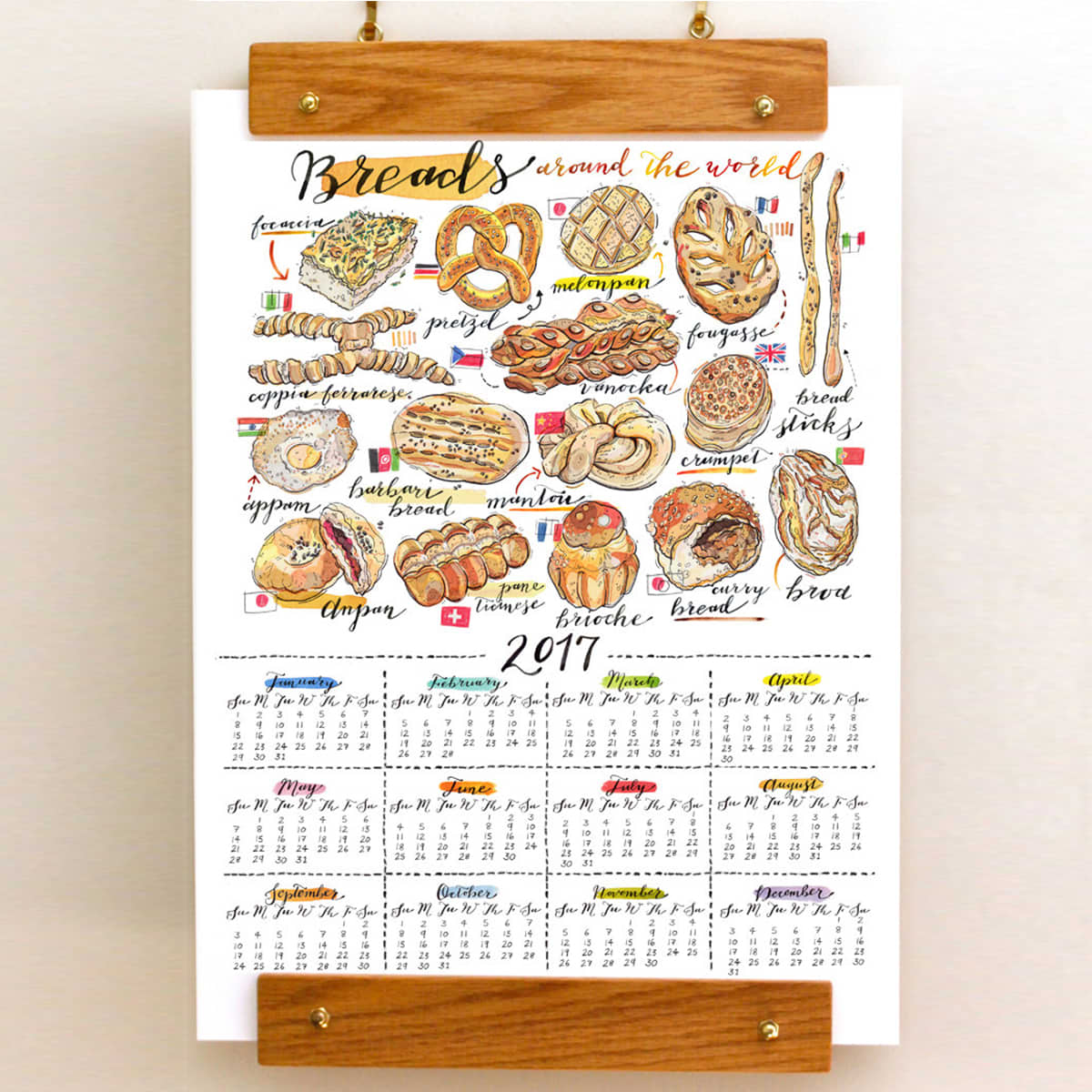 10 Food-Themed Calendars for a Yummy New Year: gallery image 7