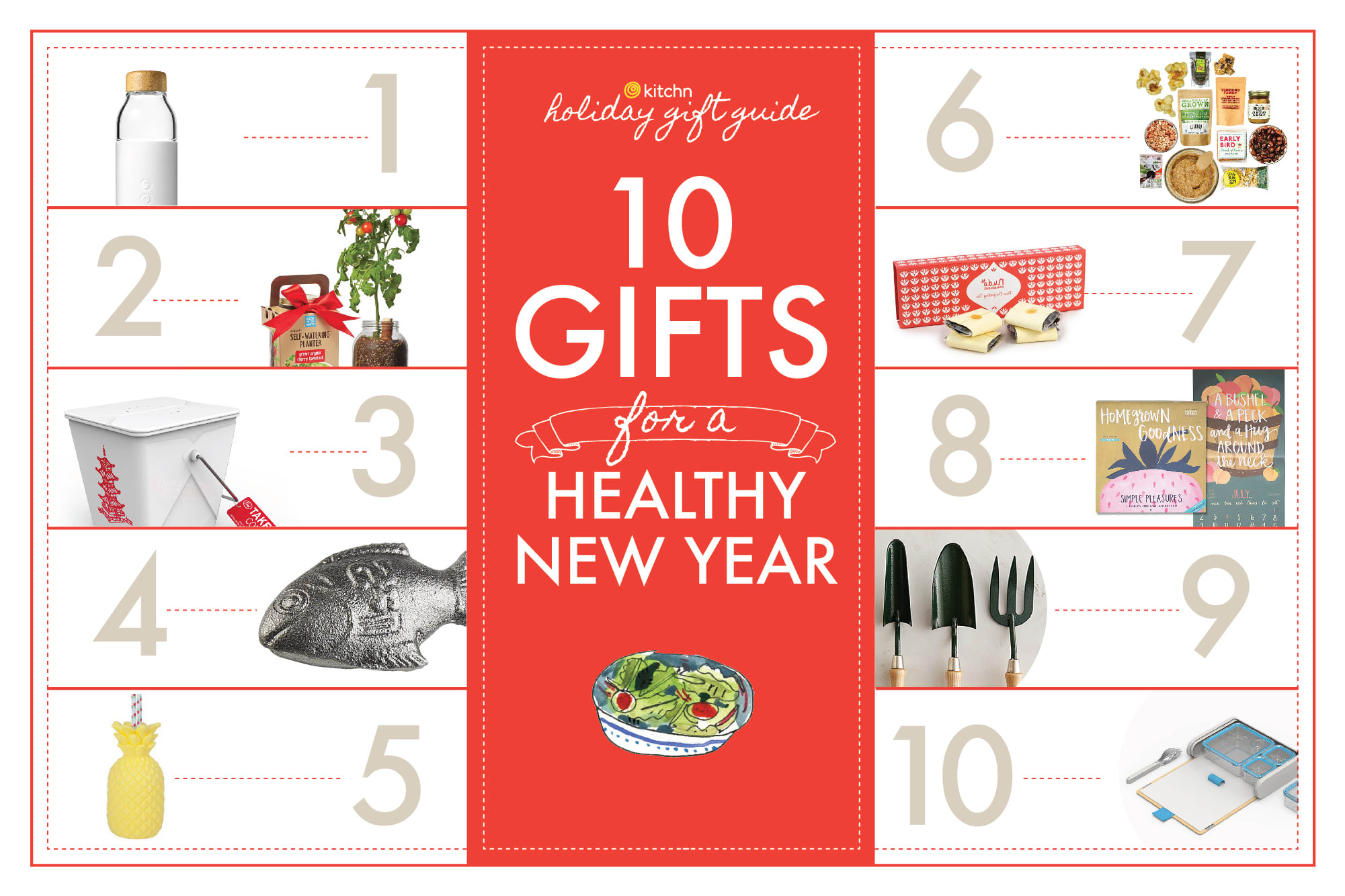 10 Gifts for a Healthy New Year: gallery image 1