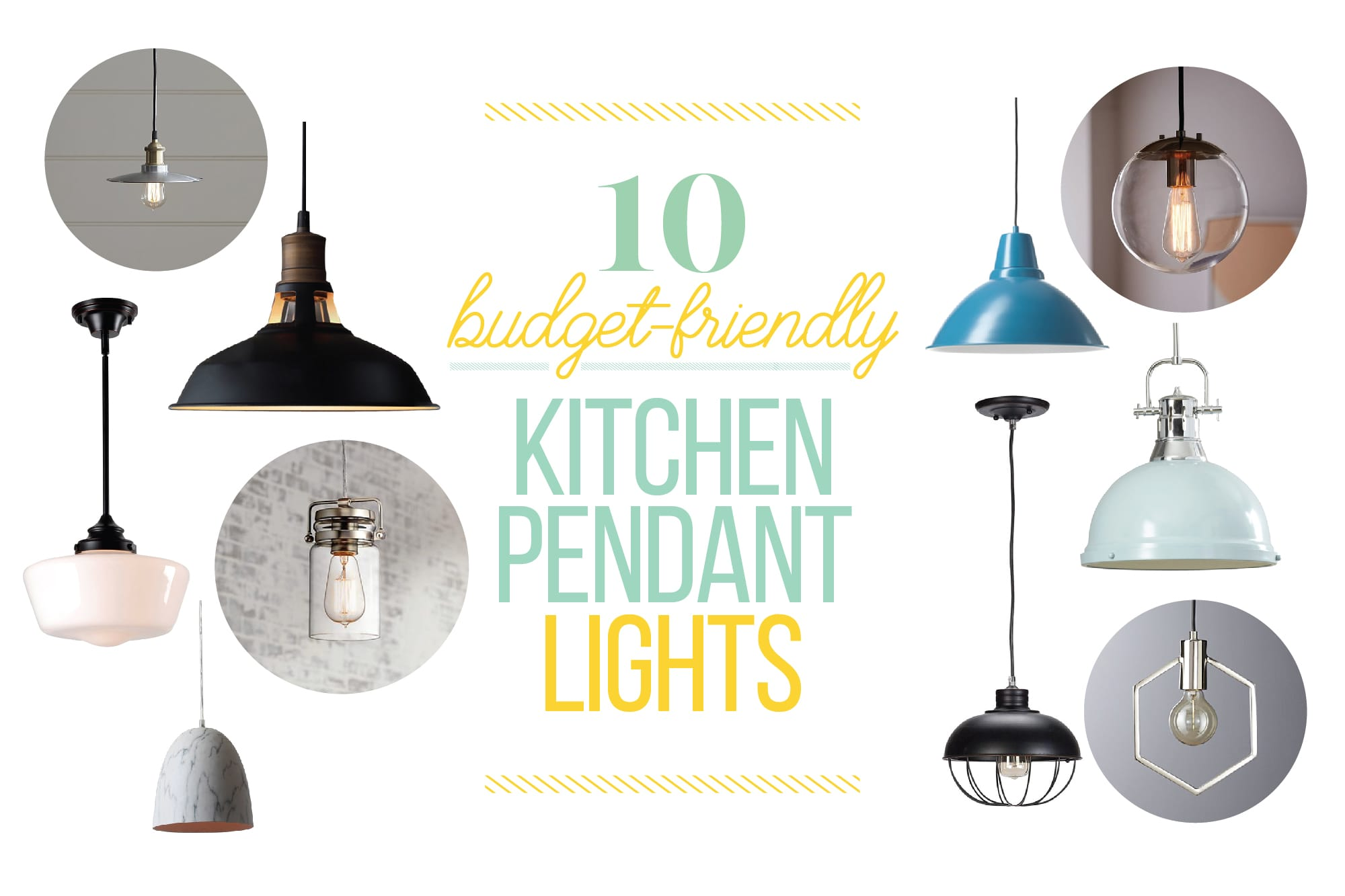 10 Budget-Friendly Kitchen Pendant Lights: gallery image 1