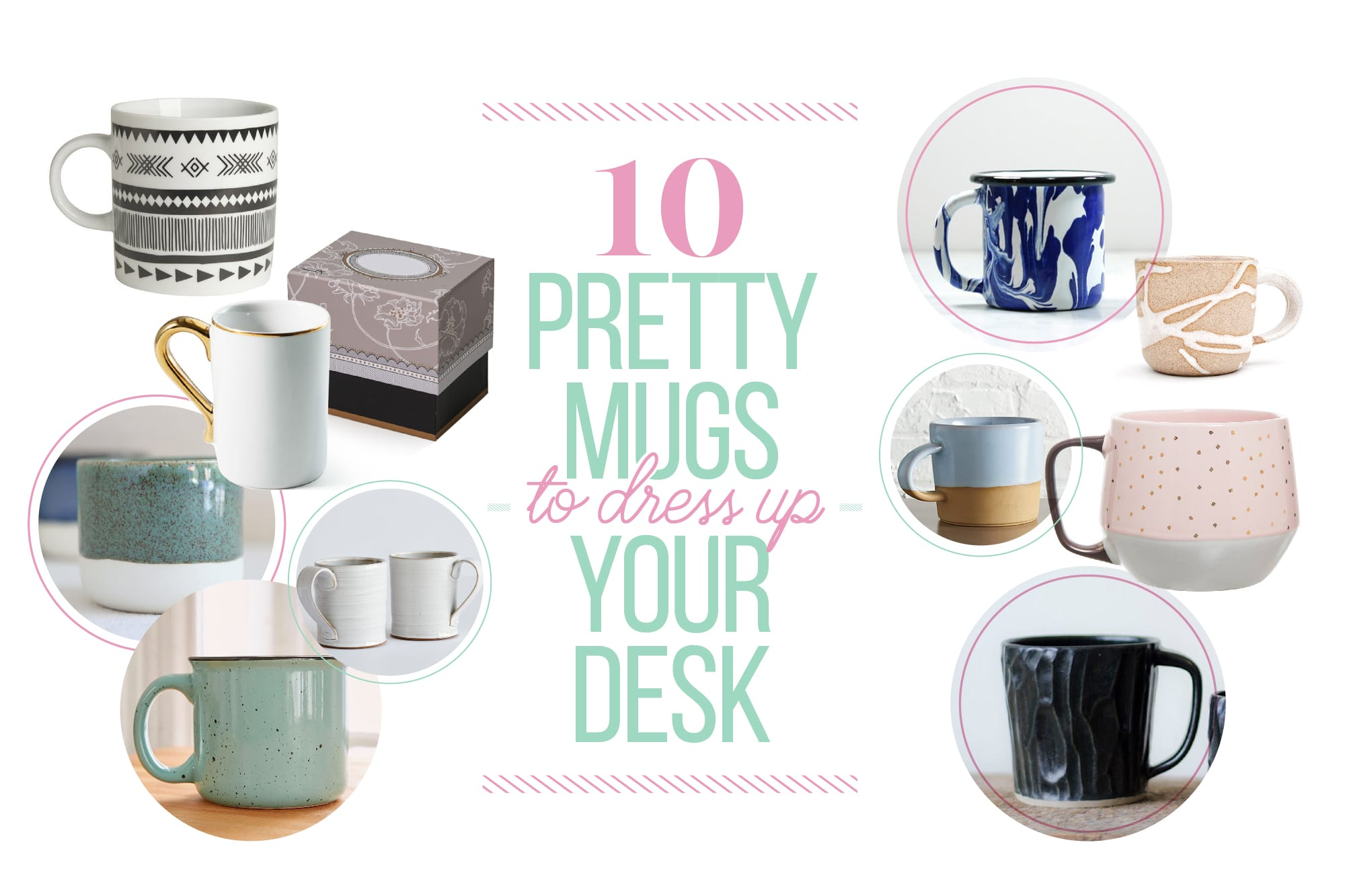 10 Pretty Mugs to Dress Up Your Desk: gallery image 1