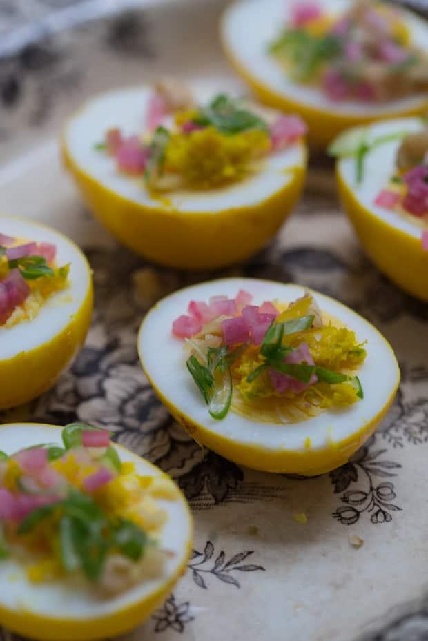 Pickled Turmeric Eggs