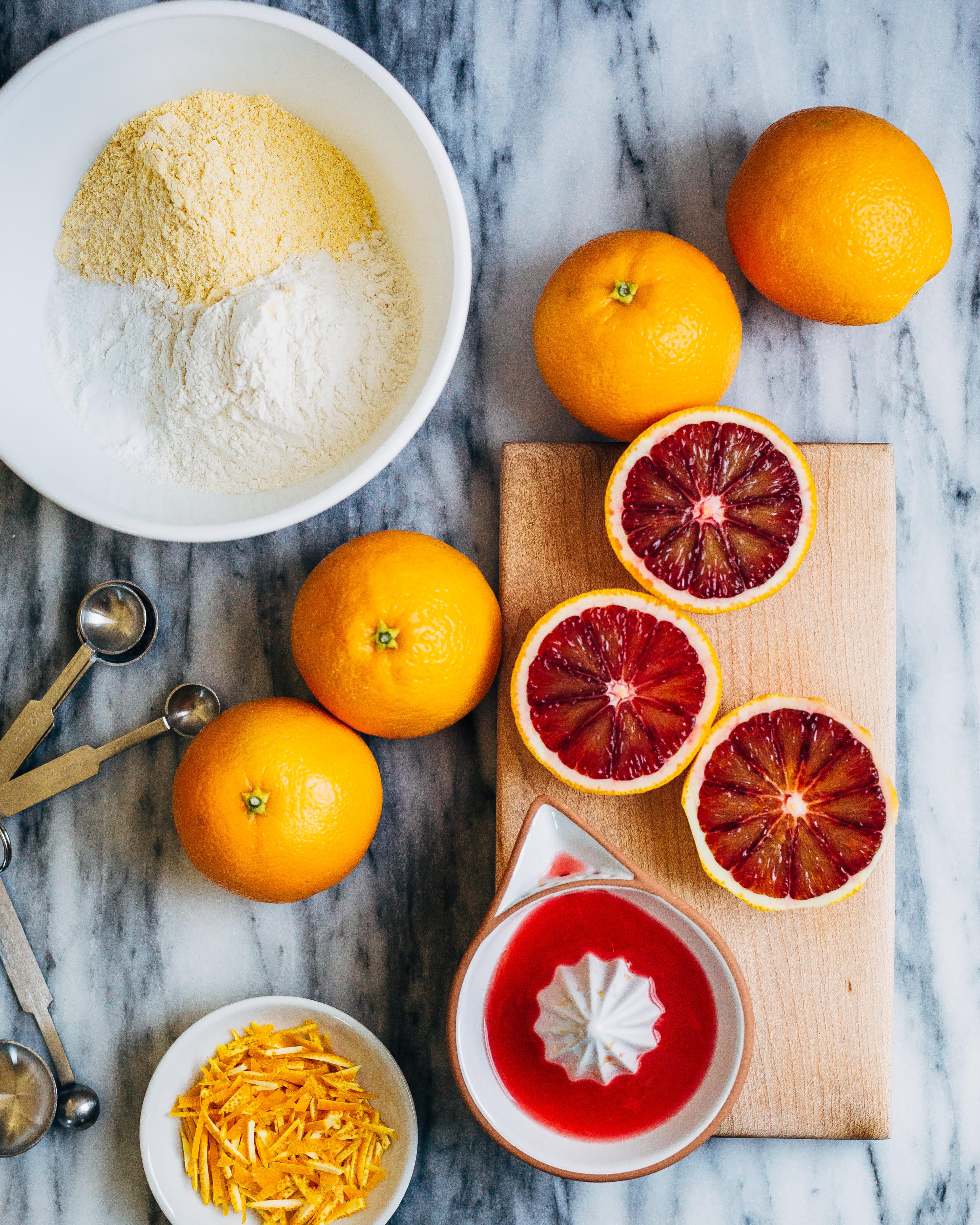Recipe: Blood Orange Olive Oil Cake