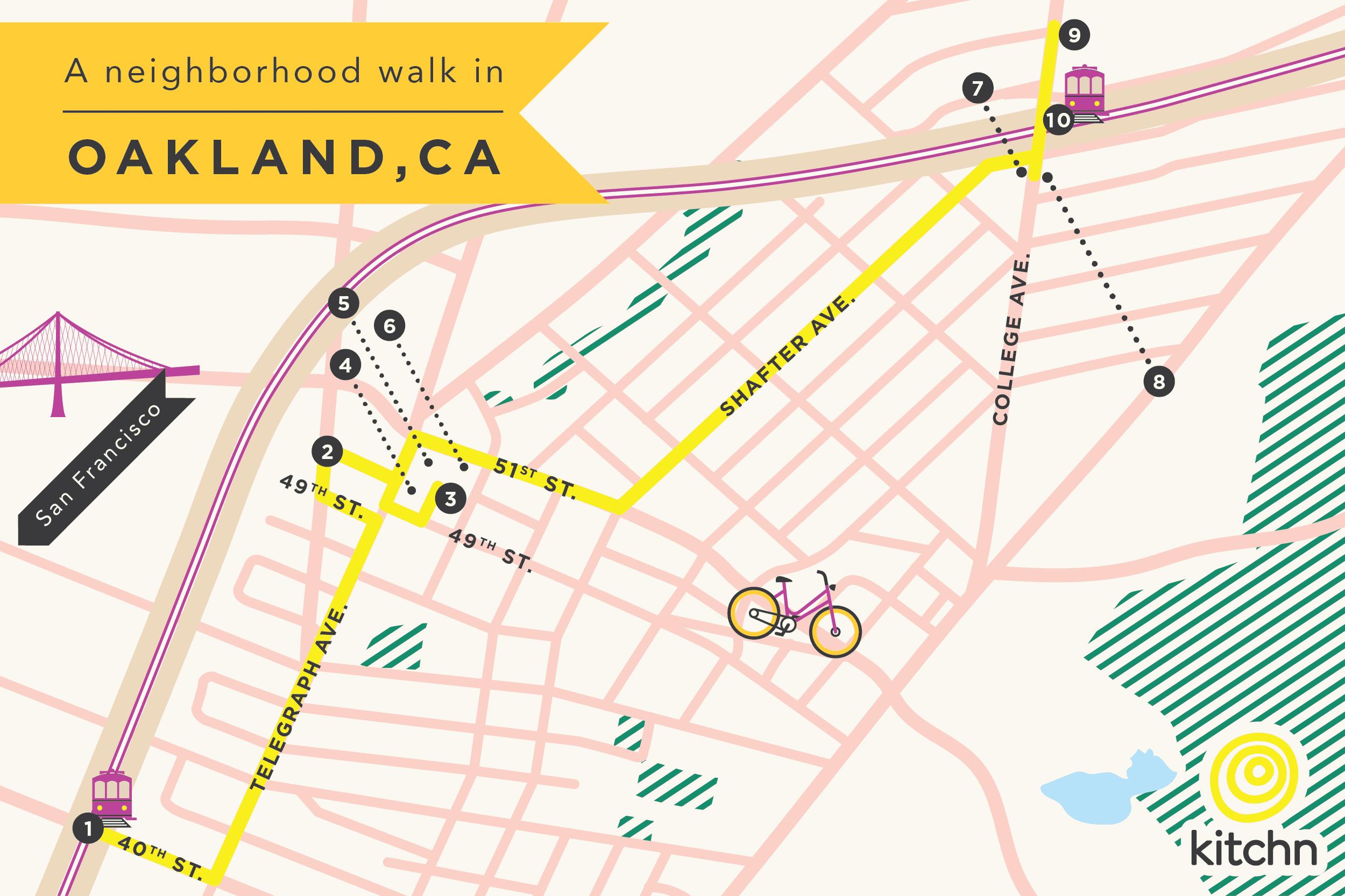 A Neighborhood Walk in Oakland: Temescal to Rockridge: gallery image 1