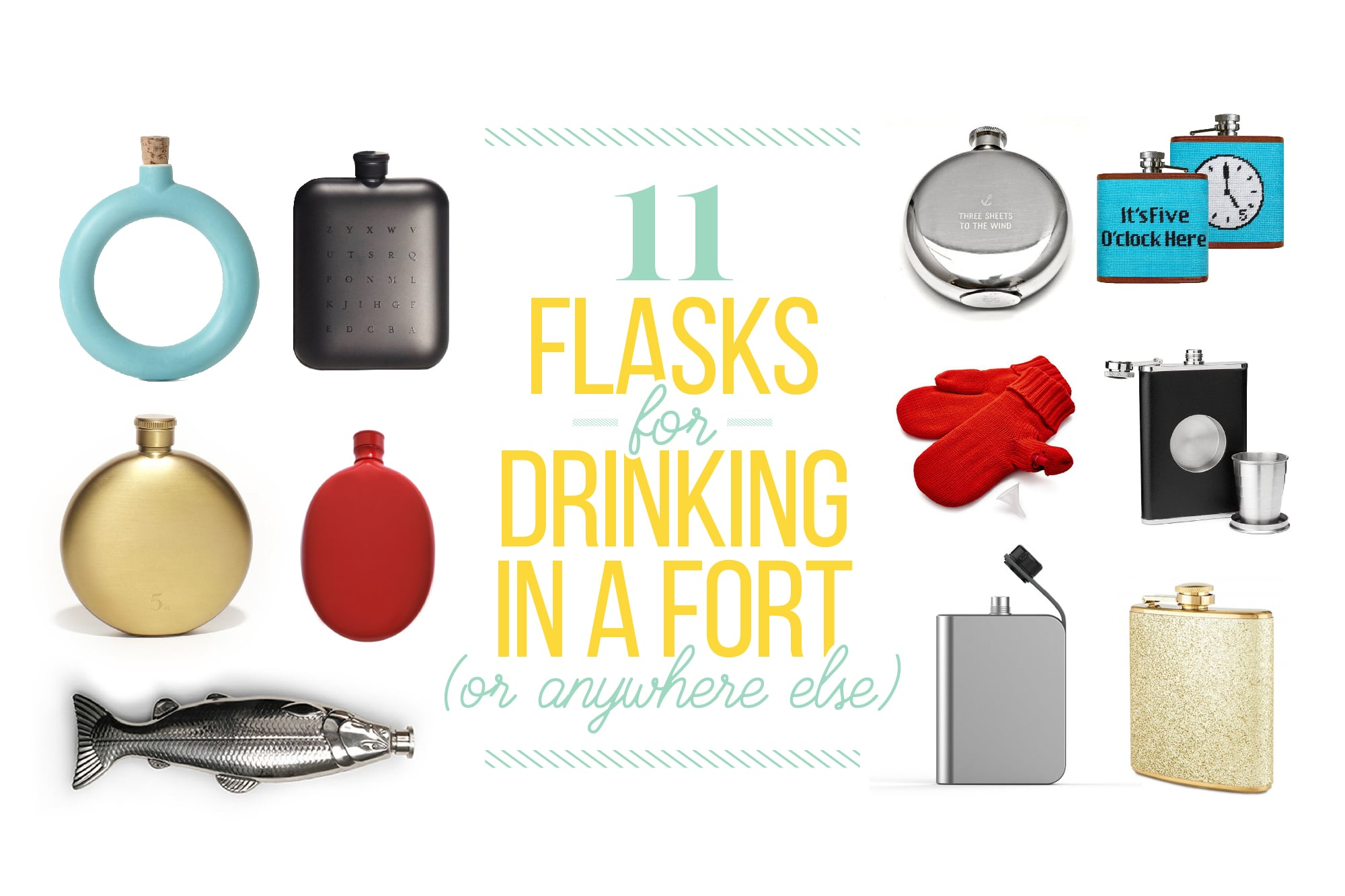 11 Classy Flasks for Drinking Anywhere: gallery image 1