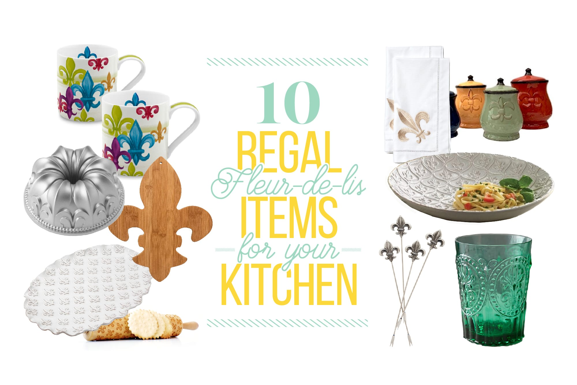 10 Fleur-de-Lis Finds to Make Your Kitchen Feel More French: gallery image 1