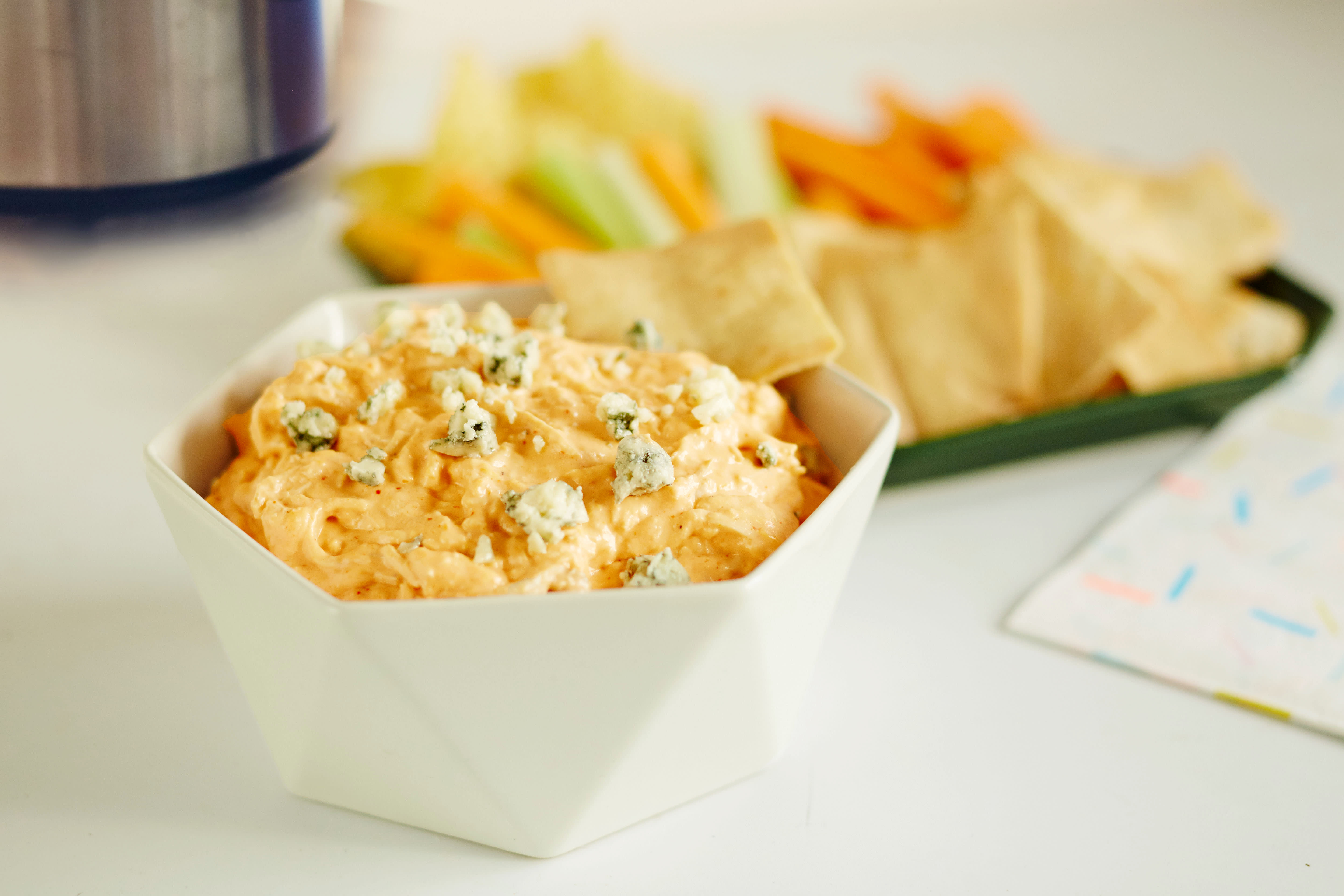 How To Make the Ultimate Buffalo Chicken Dip: gallery image 5