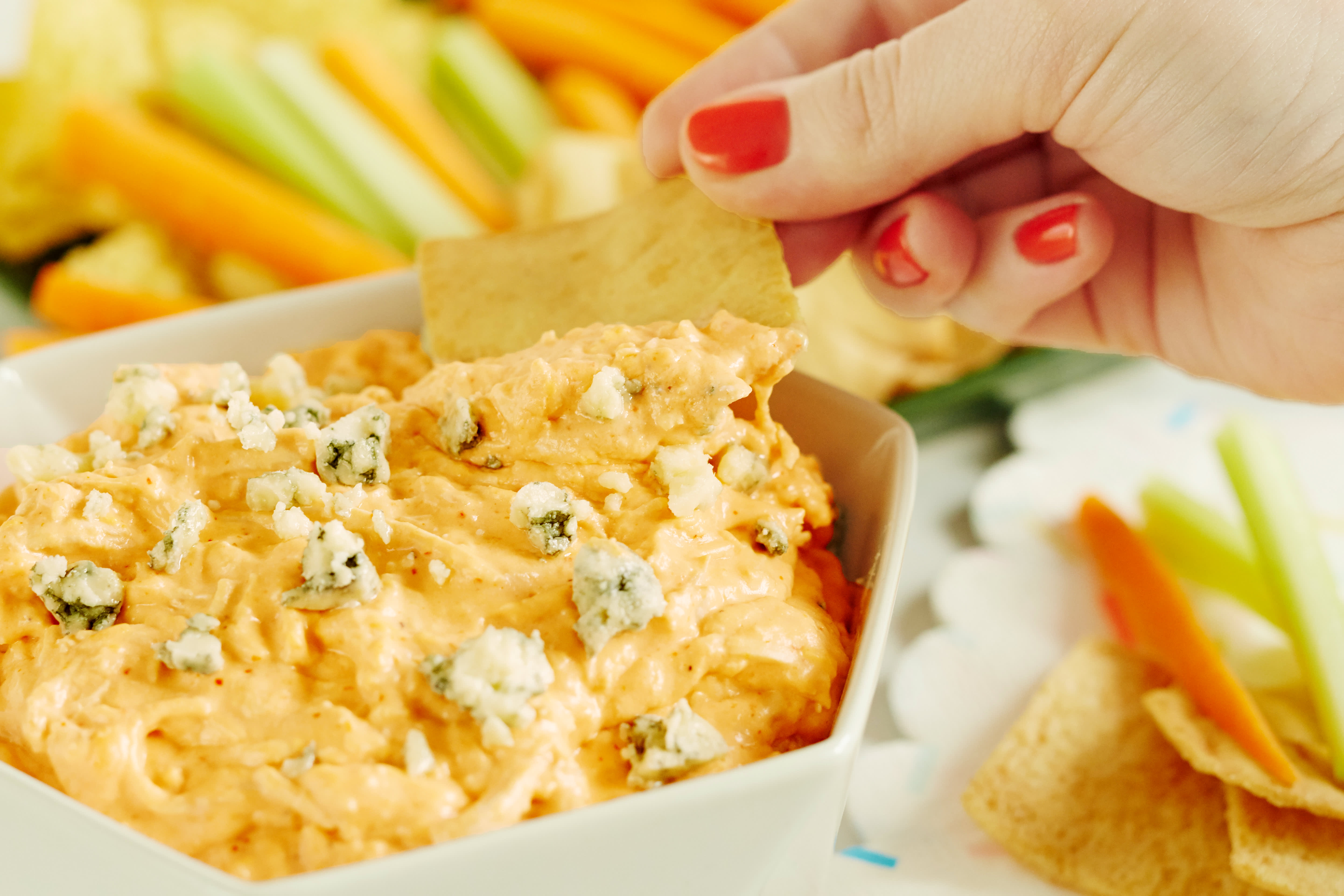 How To Make the Ultimate Buffalo Chicken Dip: gallery image 6