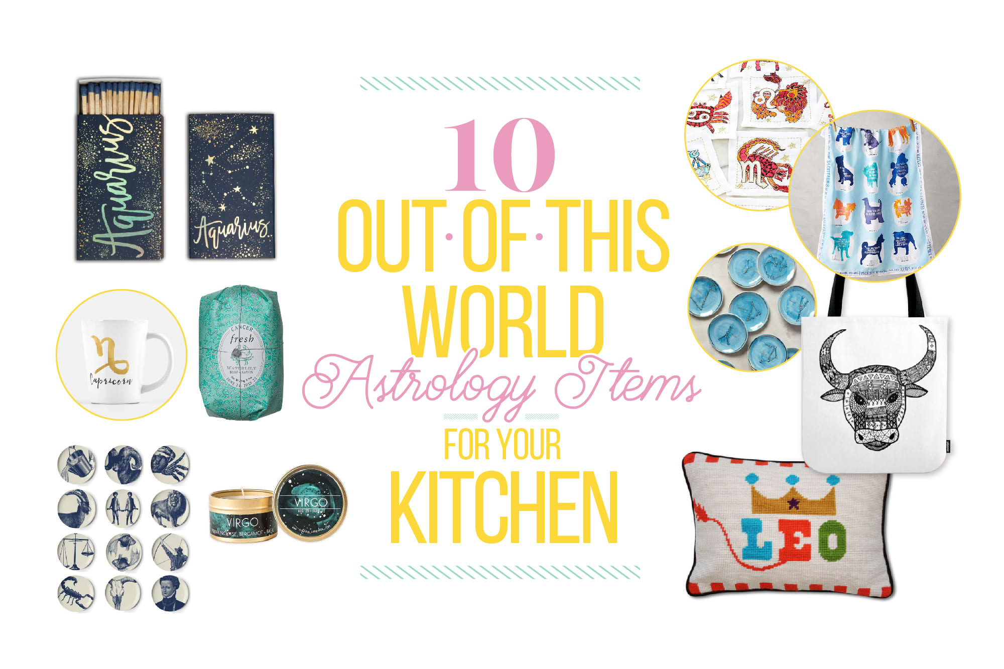 10 Out-of-This-World Astrology Items for Your Kitchen: gallery image 1