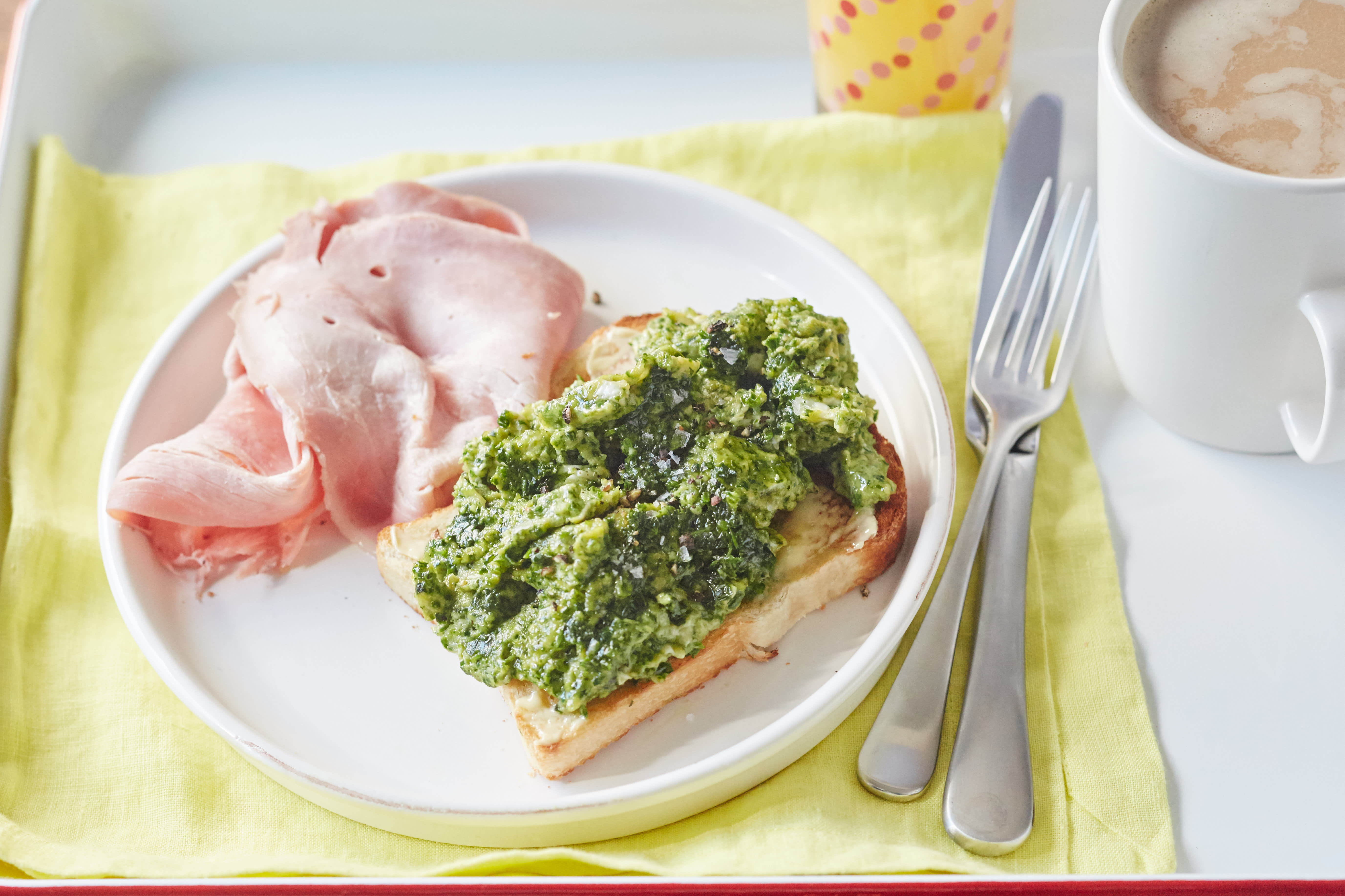 How To Make Green Eggs and Ham for Breakfast: gallery image 5