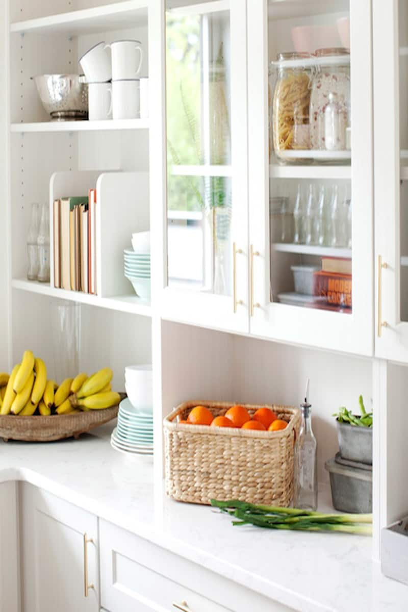 Jillian Harris pantry shelving
