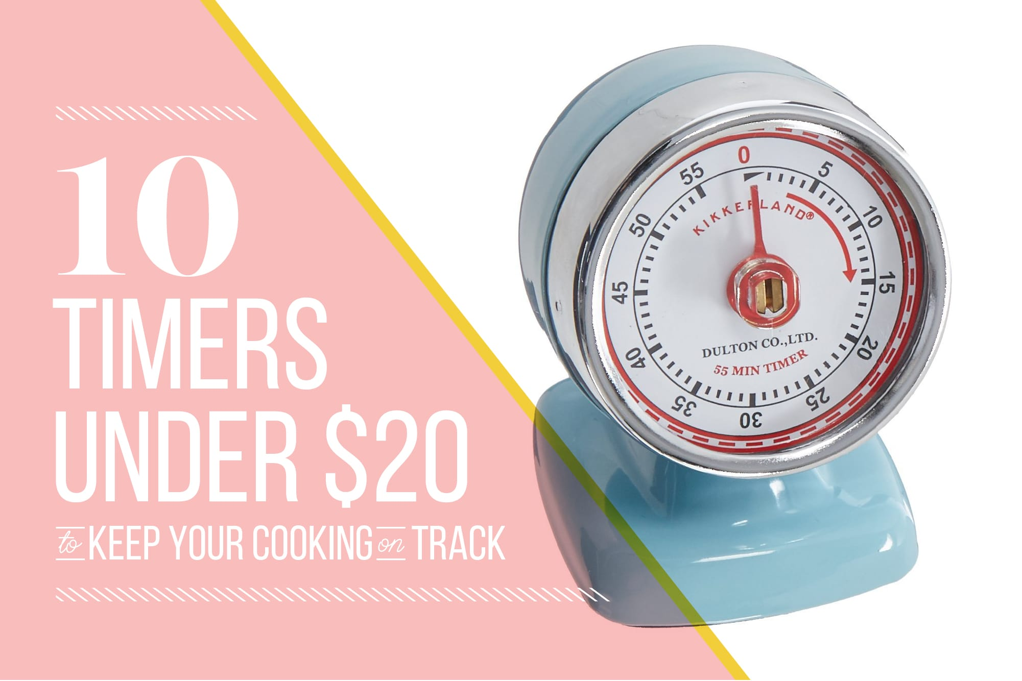 10 Cute Kitchen Timers Under $20: gallery image 1