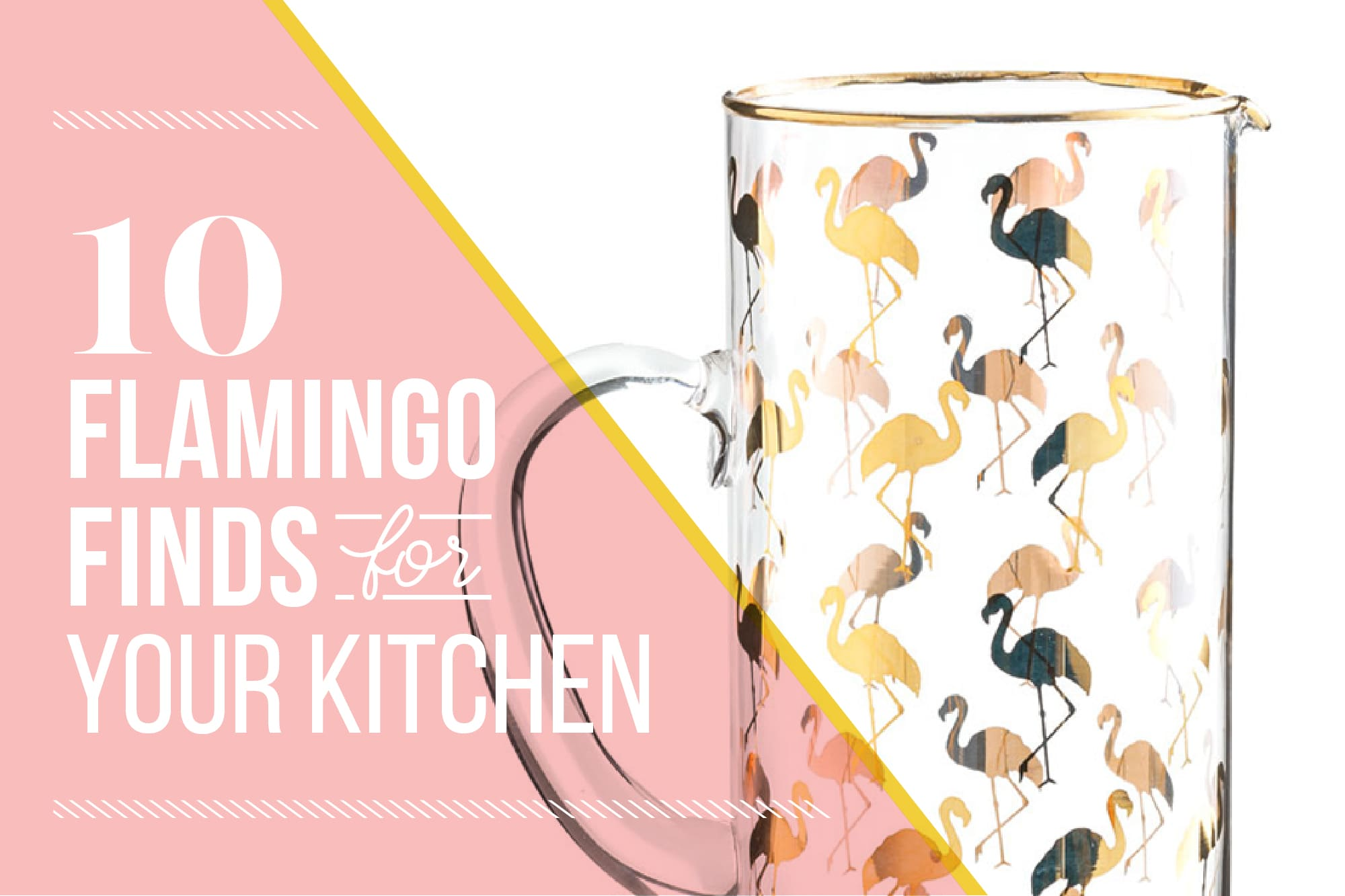 10 Flamingo Finds for Your Kitchen: gallery image 1
