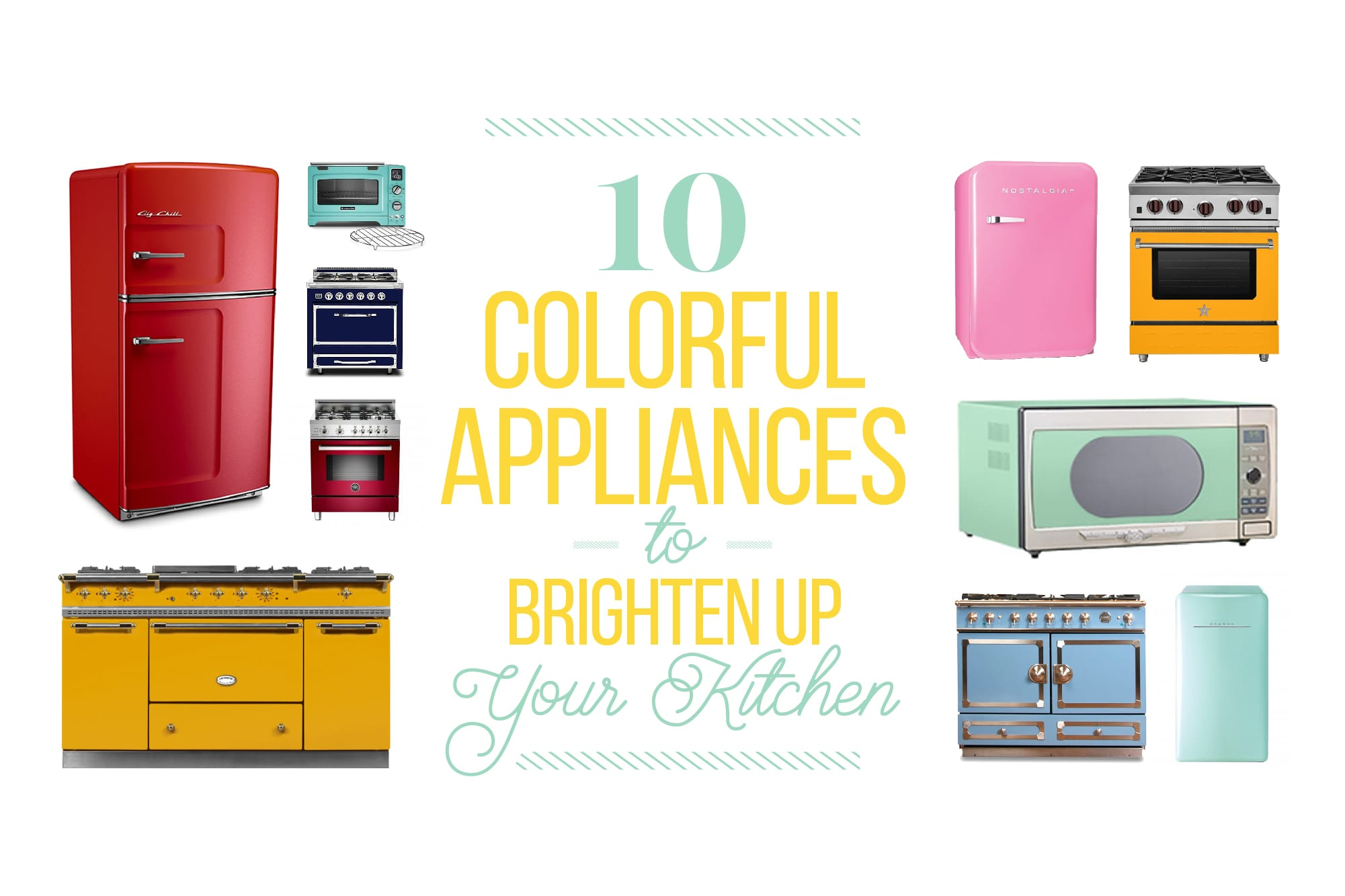 Beyond Smeg: 10 Colorful Appliances to Brighten Up Your Kitchen: gallery image 1