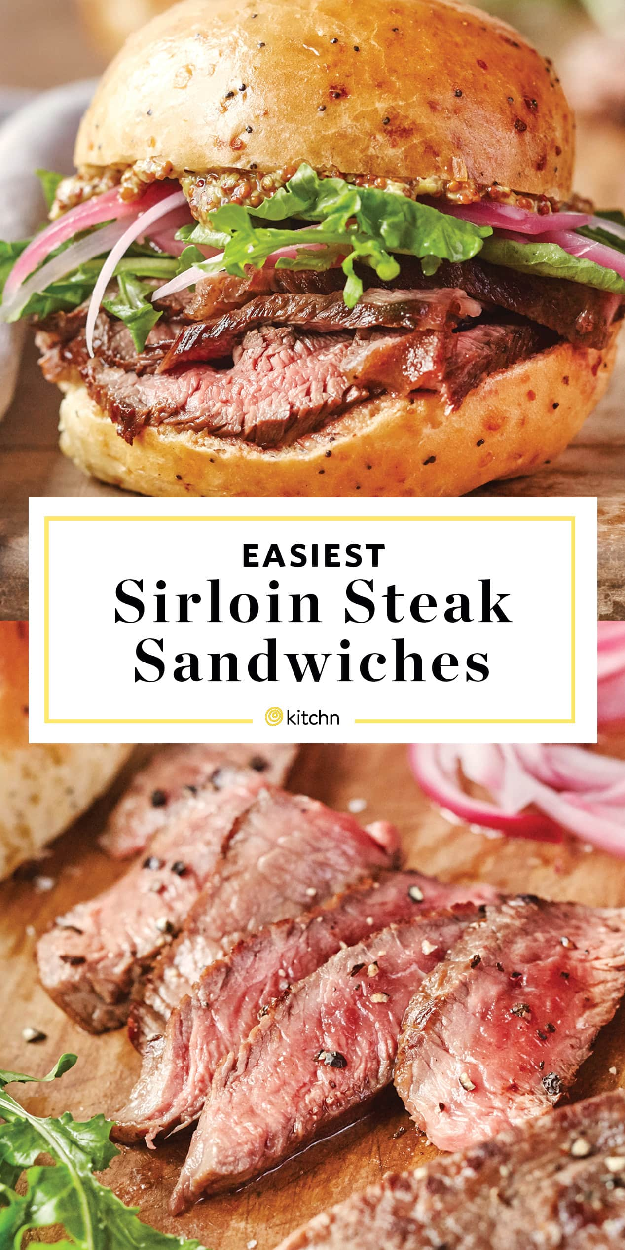 Sirloin Steak Sandwiches Recipe