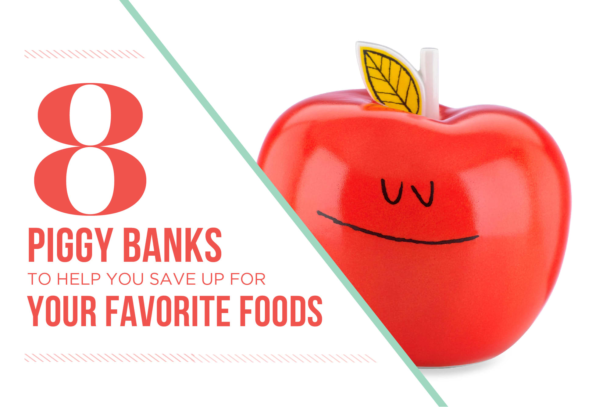 8 Piggy Banks to Help You Save Up for Your Favorite Foods: gallery image 1