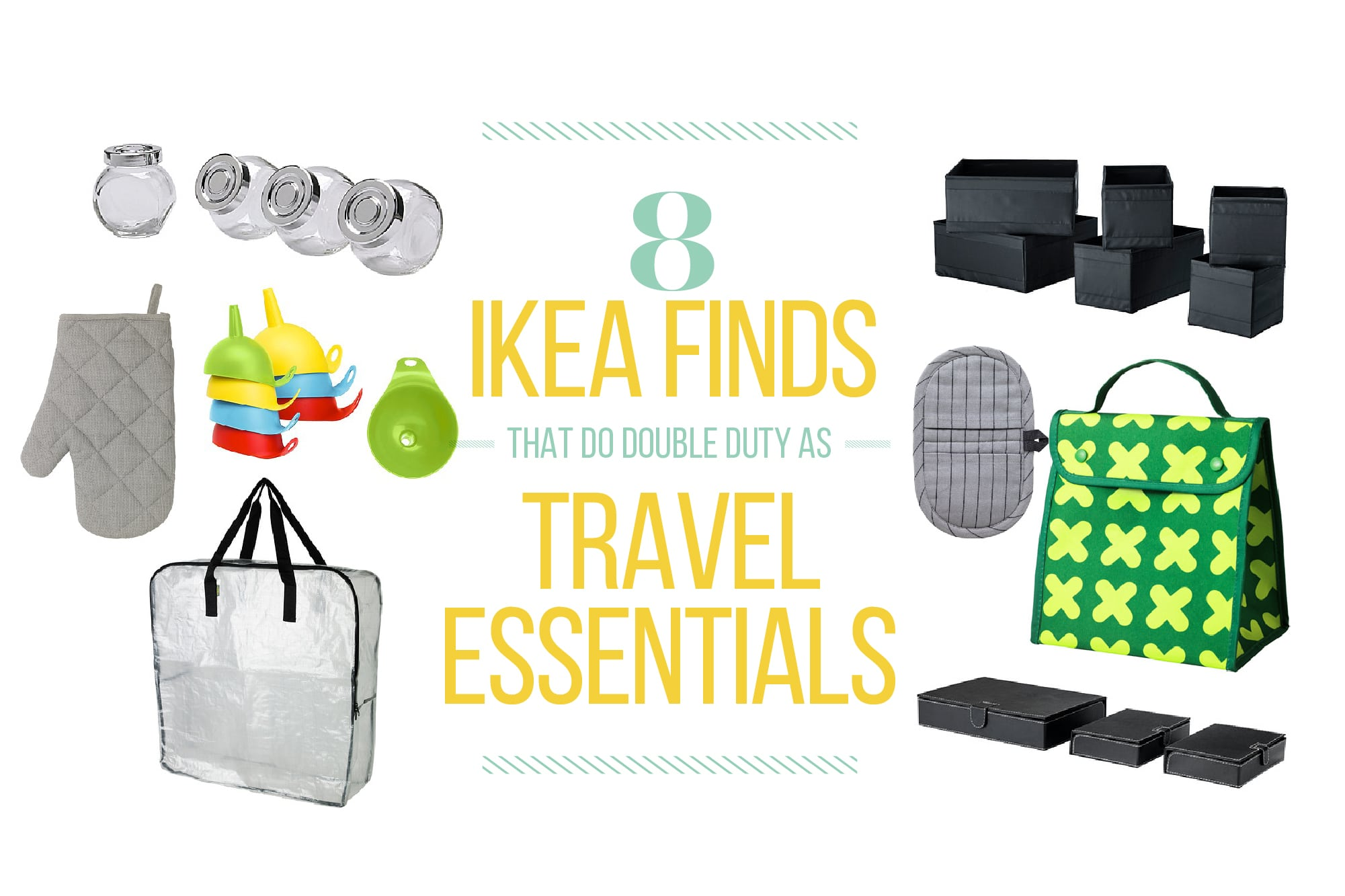 8 IKEA Finds That Do Double Duty as Travel Essentials: gallery image 1
