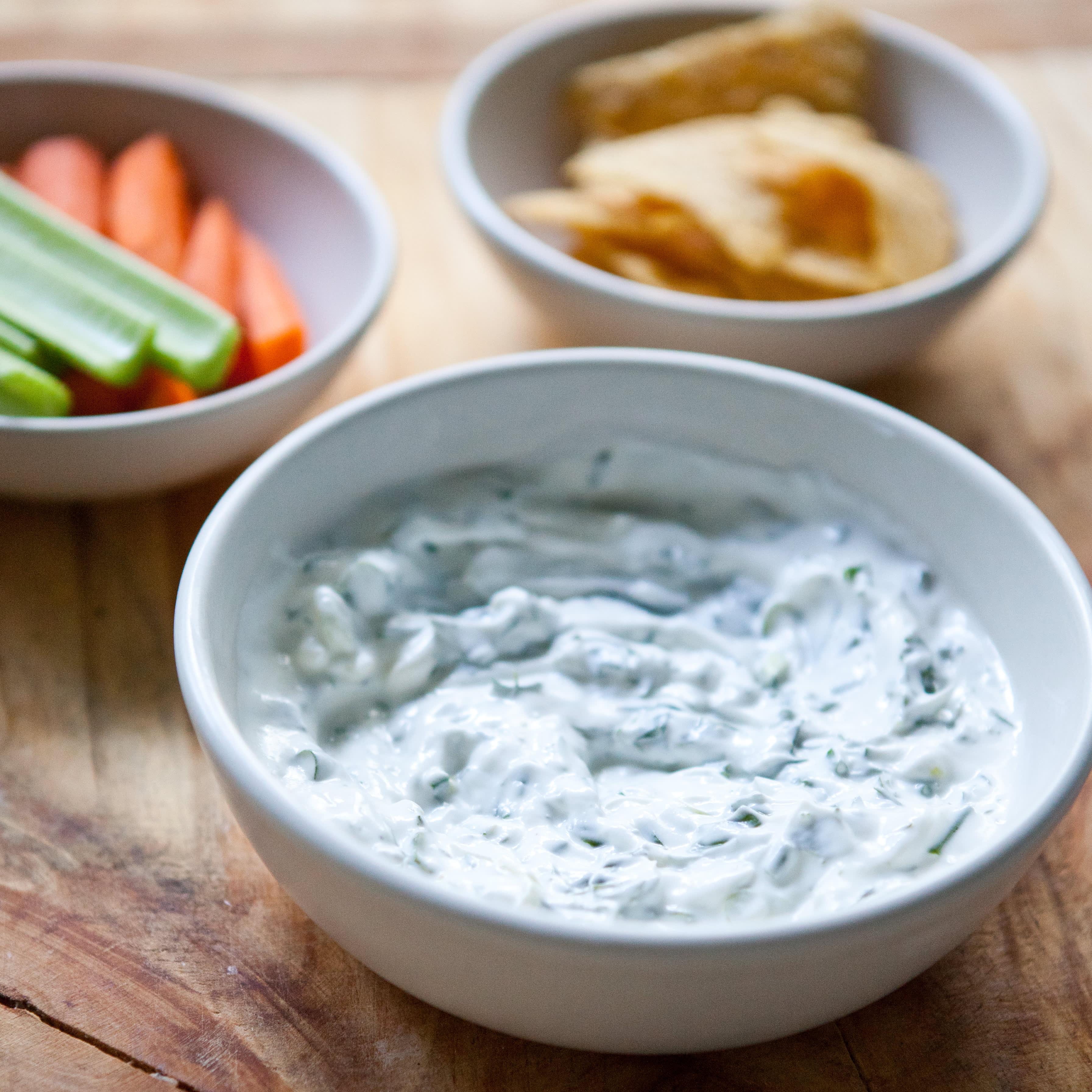 Recipe: Herbed Yogurt Dip