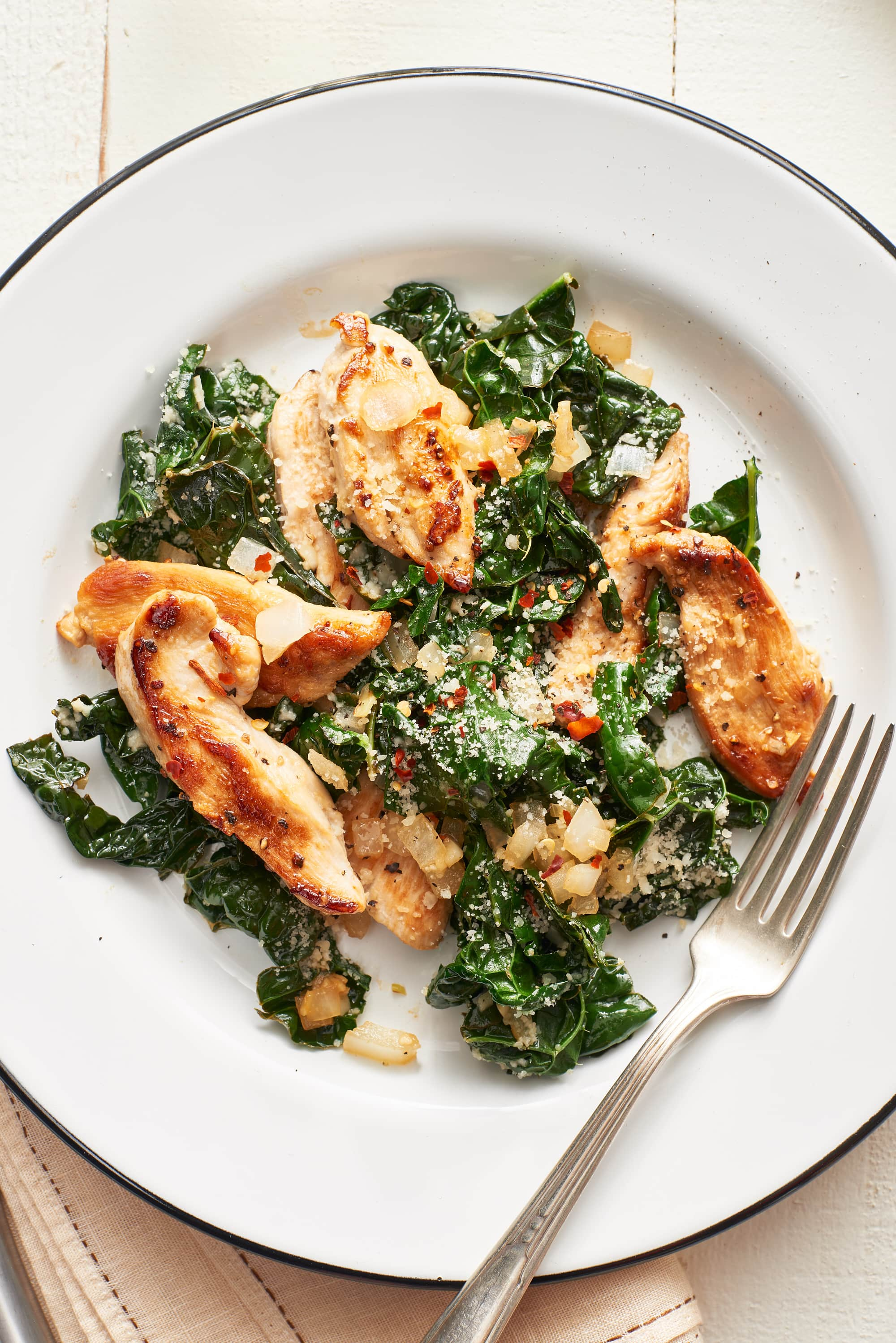 Chicken and Kale Sauté