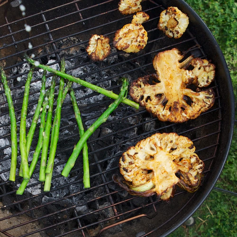 This Memorial Day, Try Some Cauliflower on the Grill