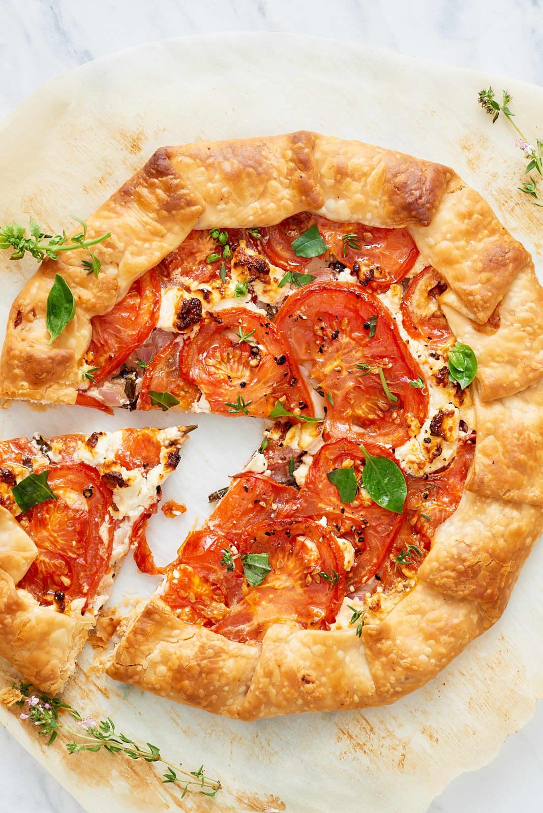 Recipe: Tomato and Feta Galette