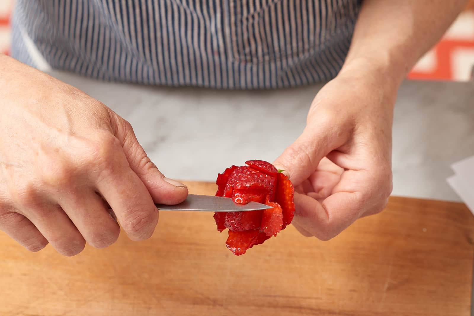 How To Make Strawberry Roses: gallery image 3