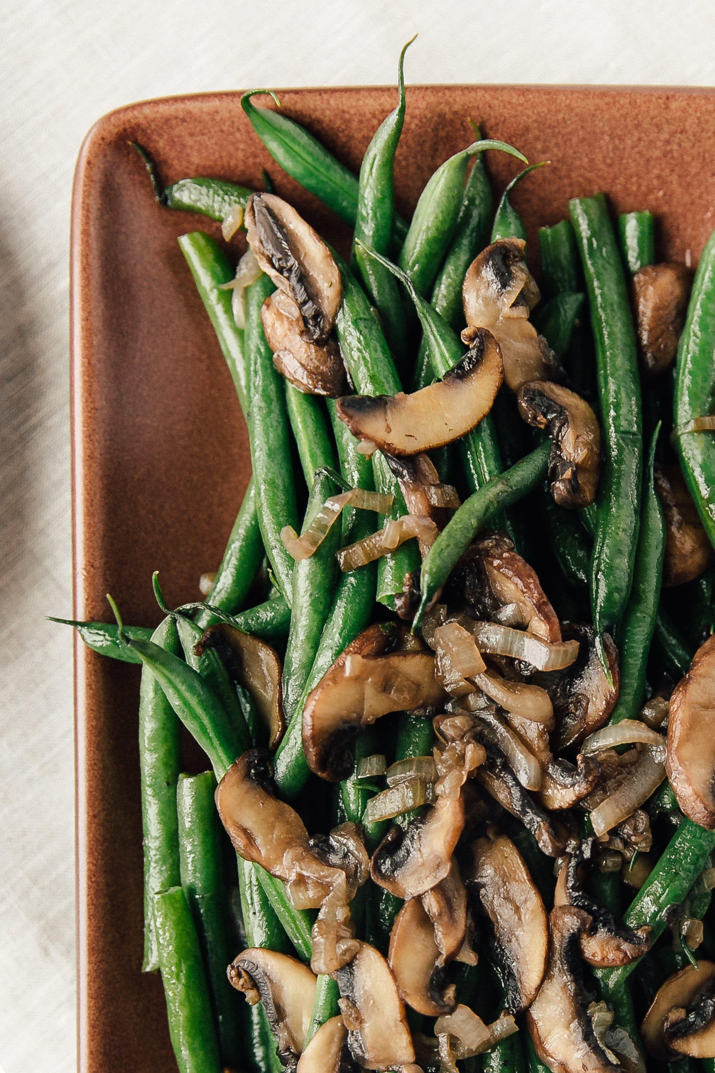 Steam-Fried Green Beans