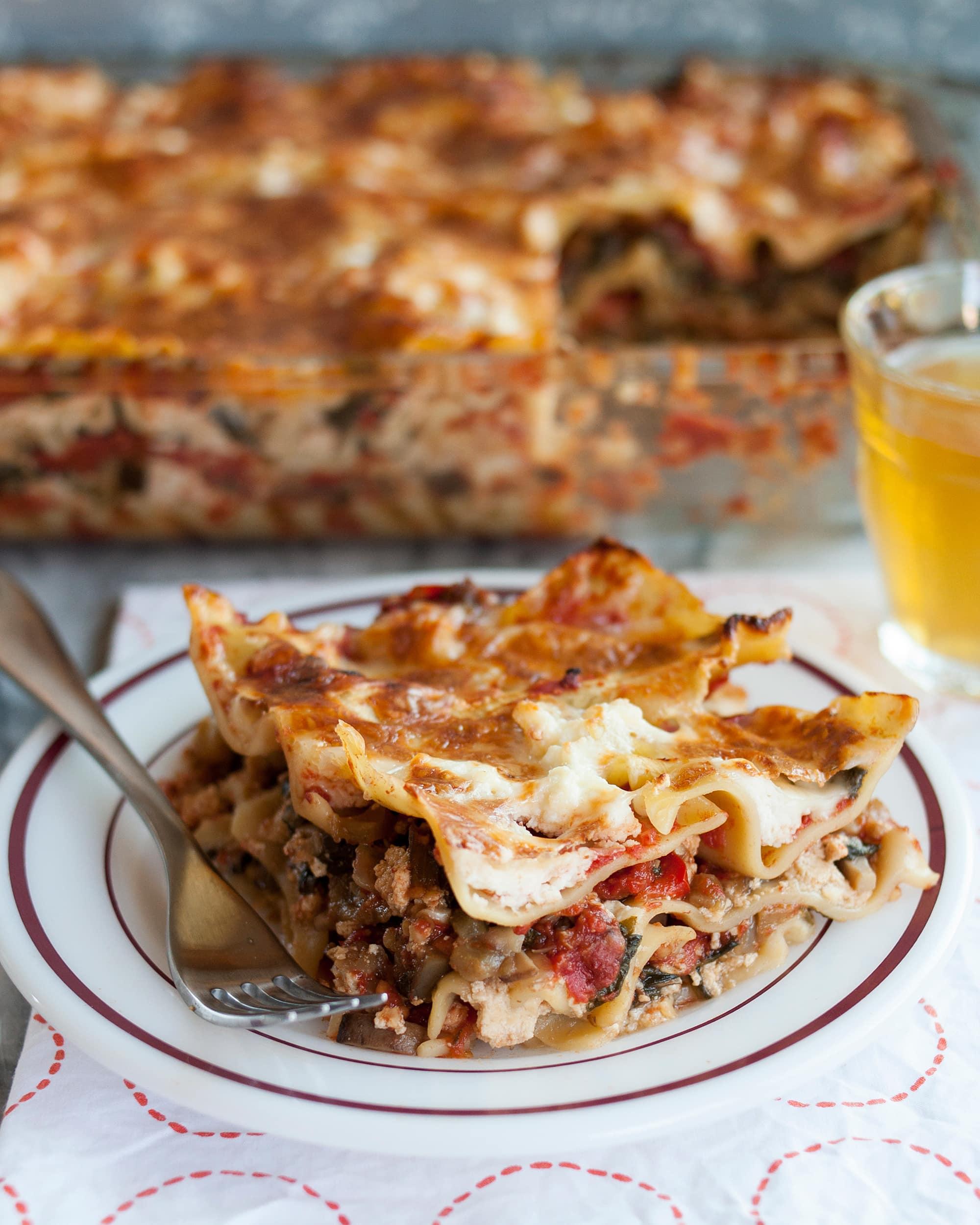 Recipe: No-Boil Chunky Cheese Lasagna