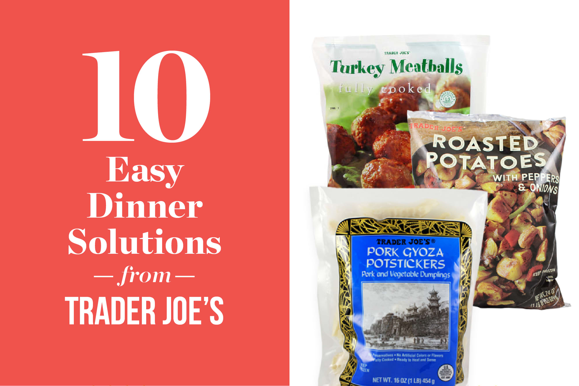 10 Frozen Foods I Buy at Trader Joe's for Easier Weeknight Dinners: gallery image 1