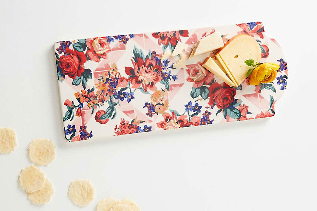 Geo Paradise Garden Cheese Board