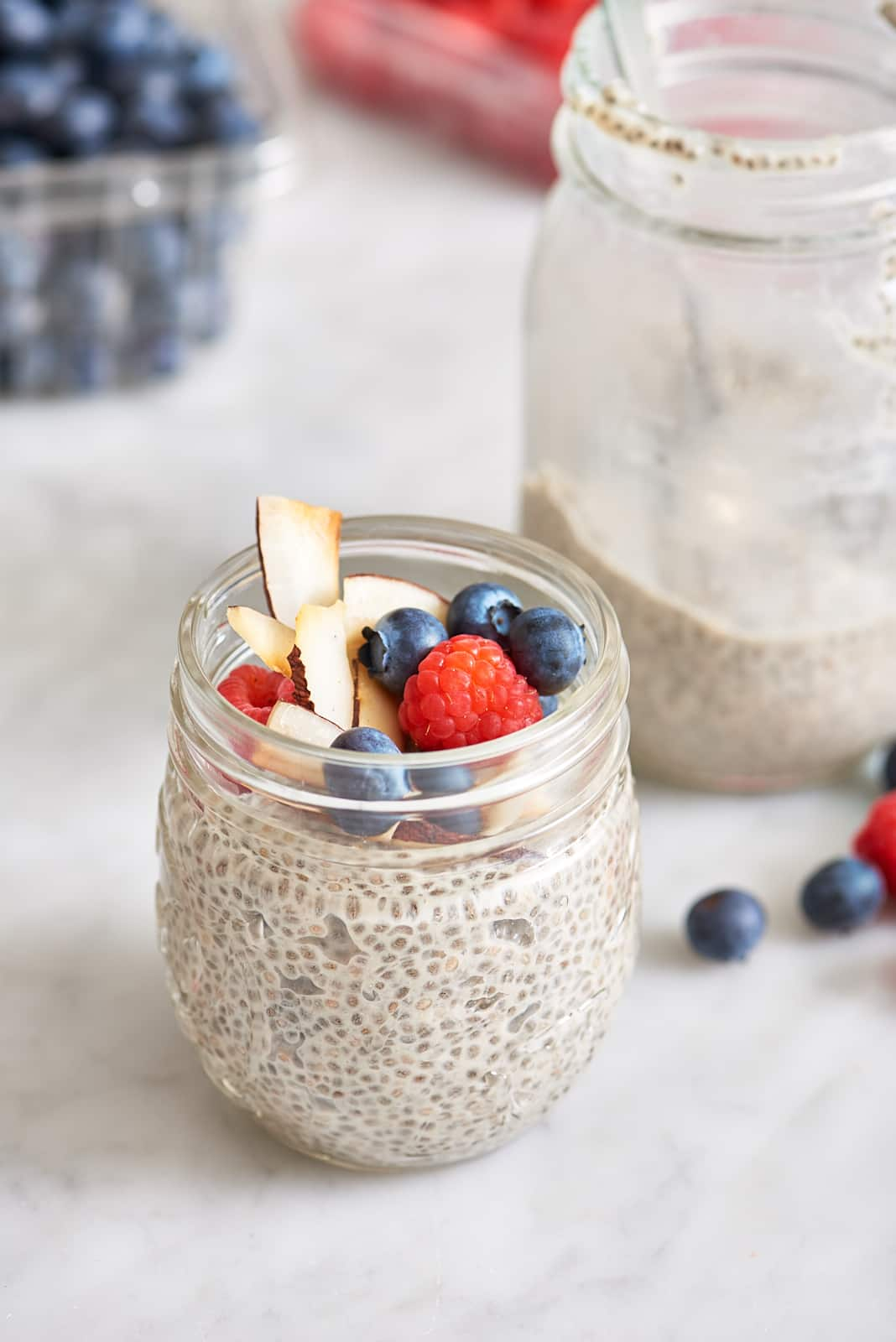 HT Chia Pudding - Beauty - on counter, no jam.