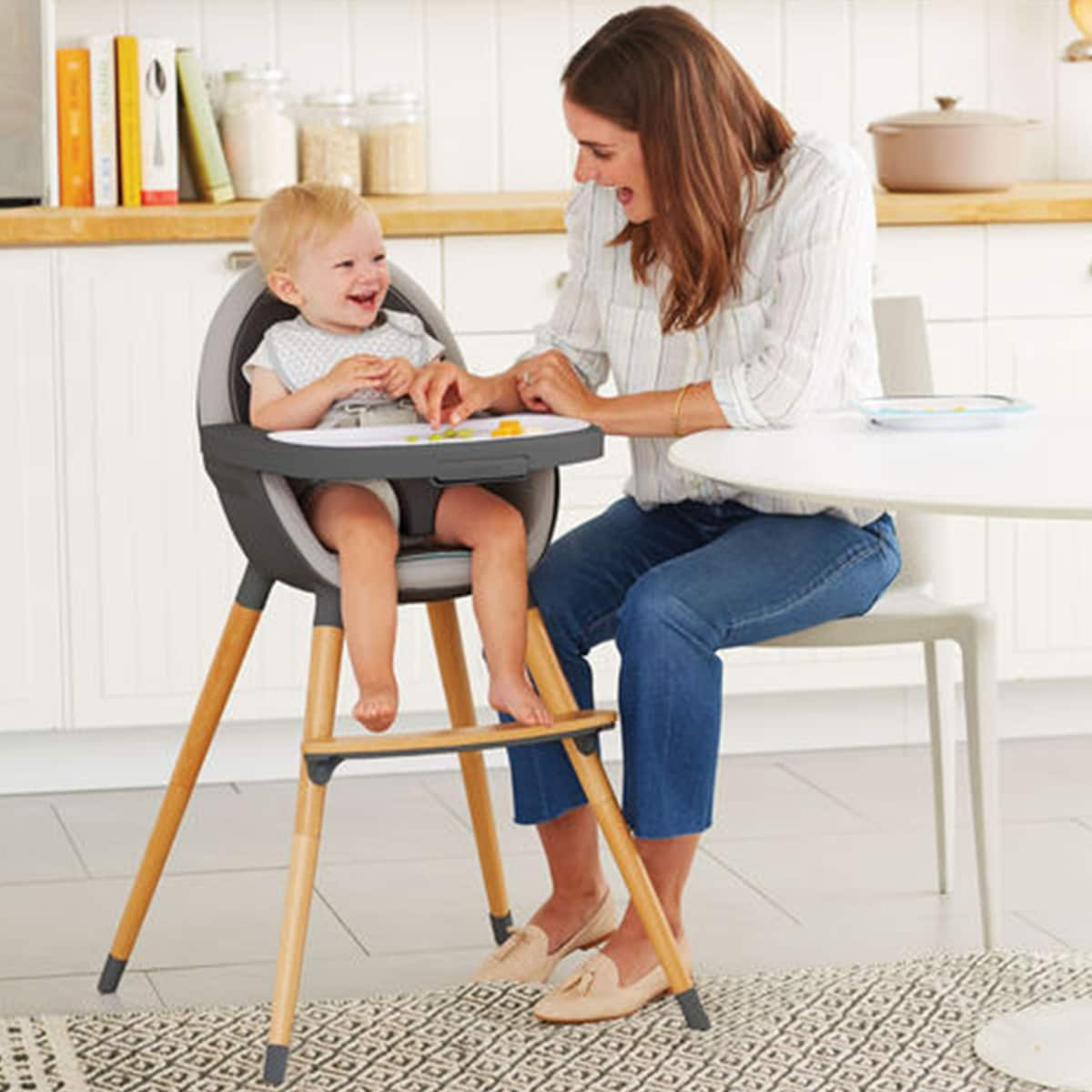 The Most Stylish and Easy-to-Clean High Chairs: gallery image 1