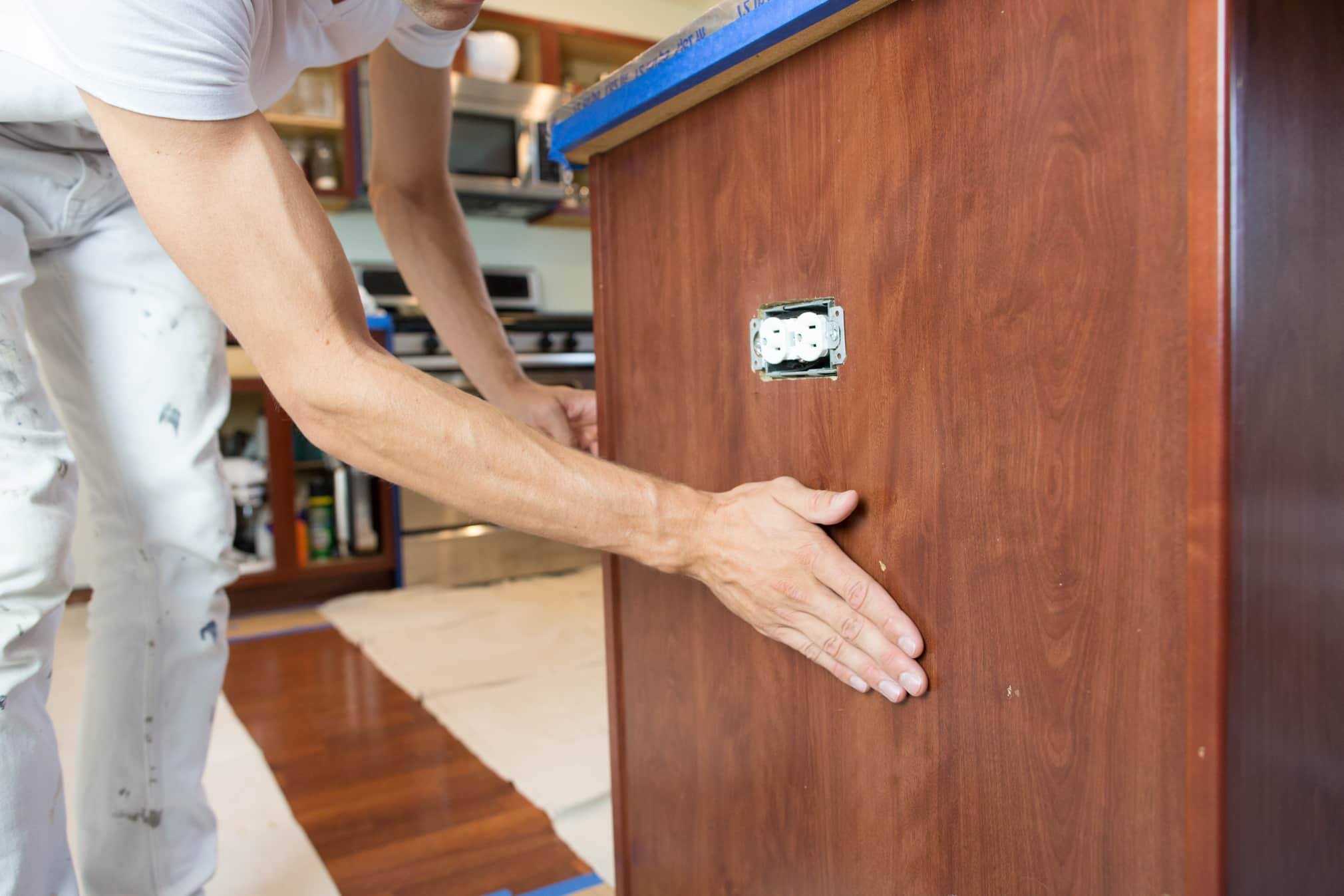 How To Paint Your Kitchen Cabinets So It Looks Like You Totally Replaced  Them: Gallery