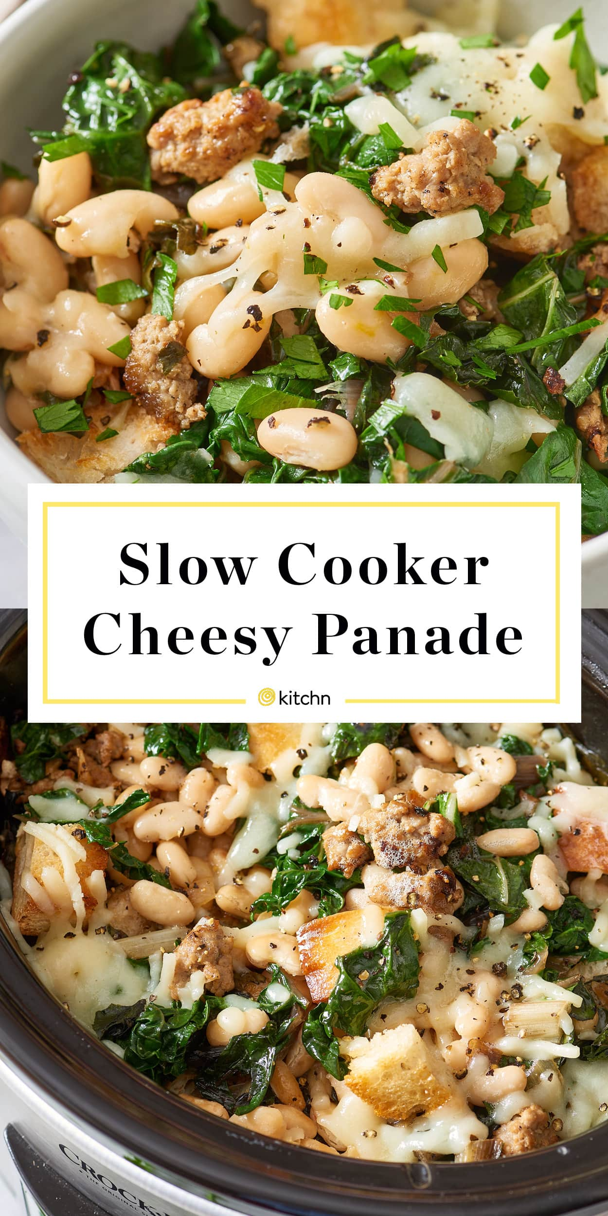 Slow Cooker Cheesy Panade