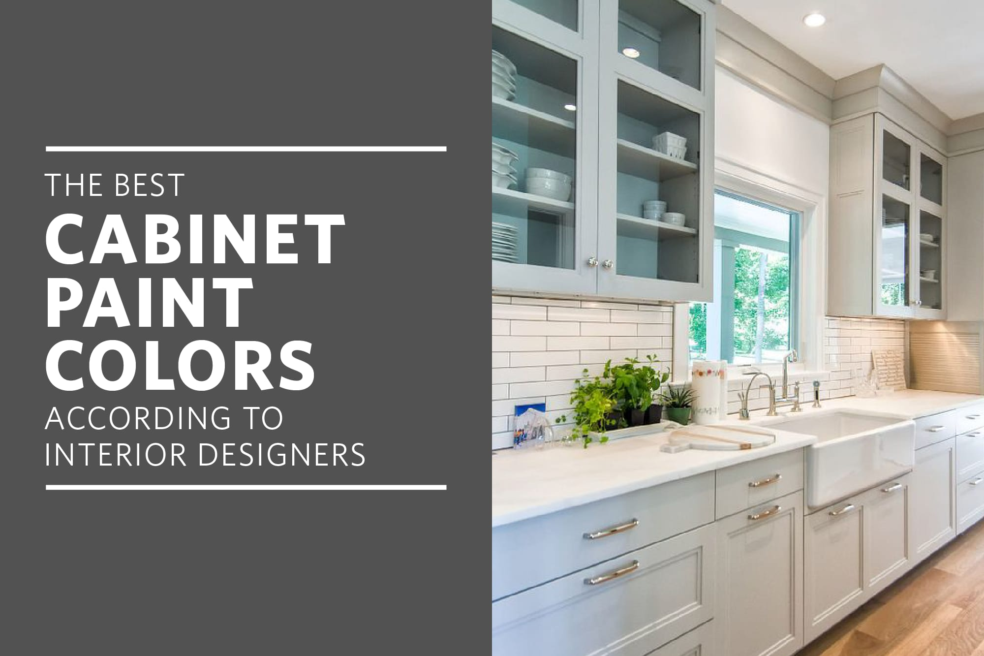 The Best Cabinet Paint Colors For A Happier Kitchen According To